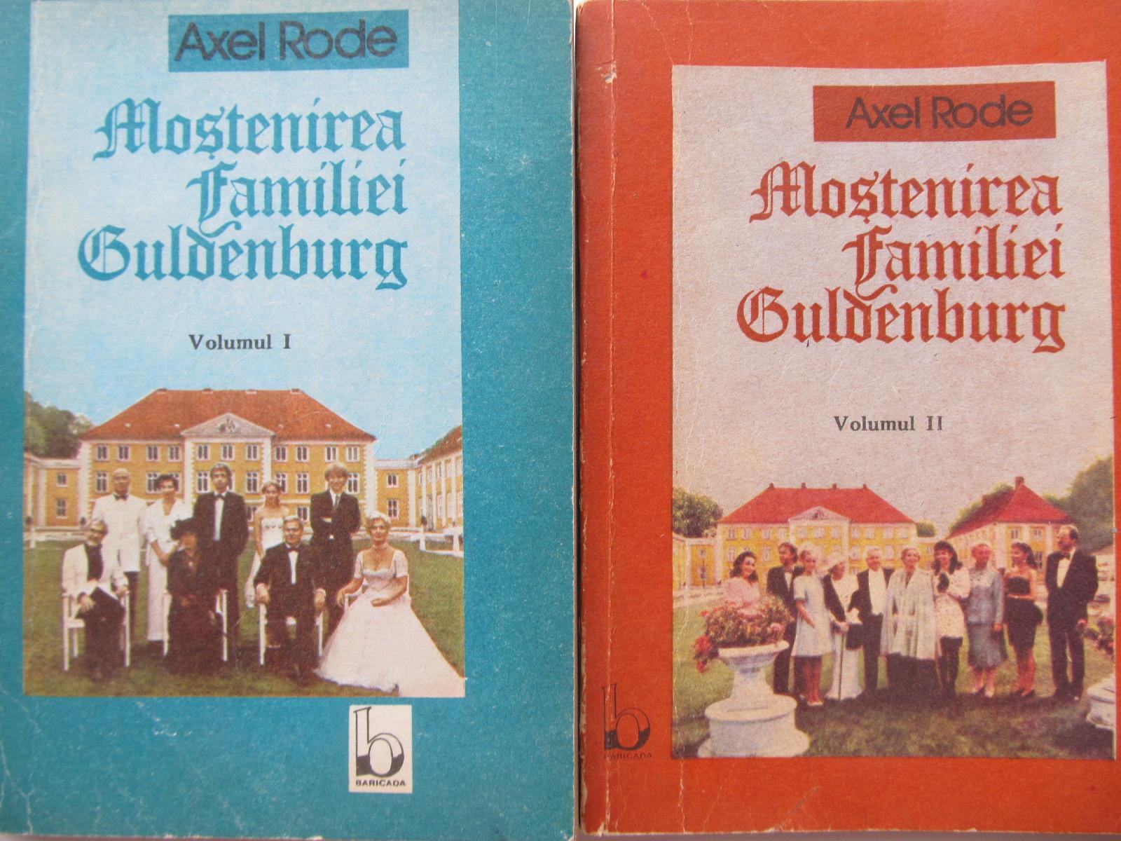 Mostenirea familiei Guldenburg (2 vol.) - vol. 1 + vol. 2 - Axel Rode | Detalii carte