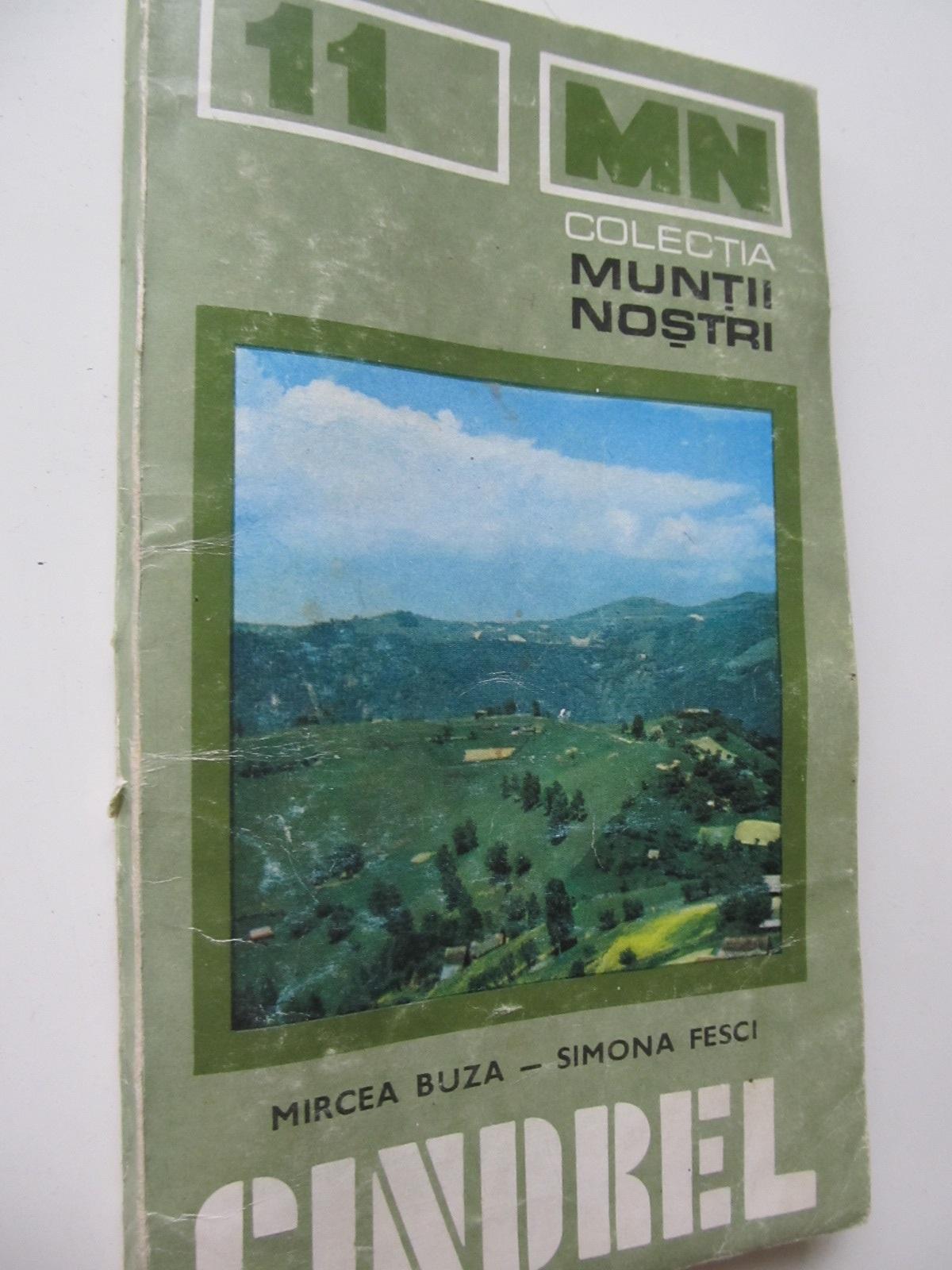 Muntii Cindrel (11) - cu harta - Mircea Buza , Simona Fesci | Detalii carte
