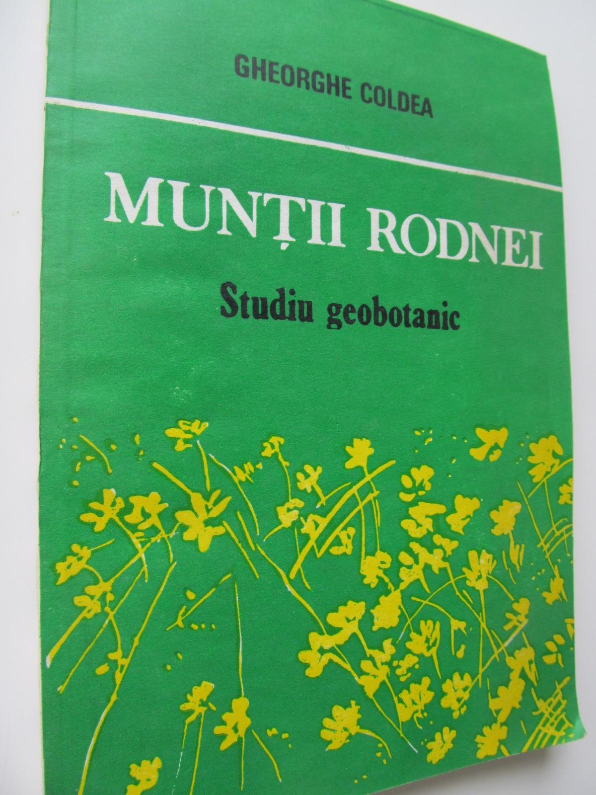 Muntii Rodnei - Studiu geobotanic - Gheorghe Coldea | Detalii carte