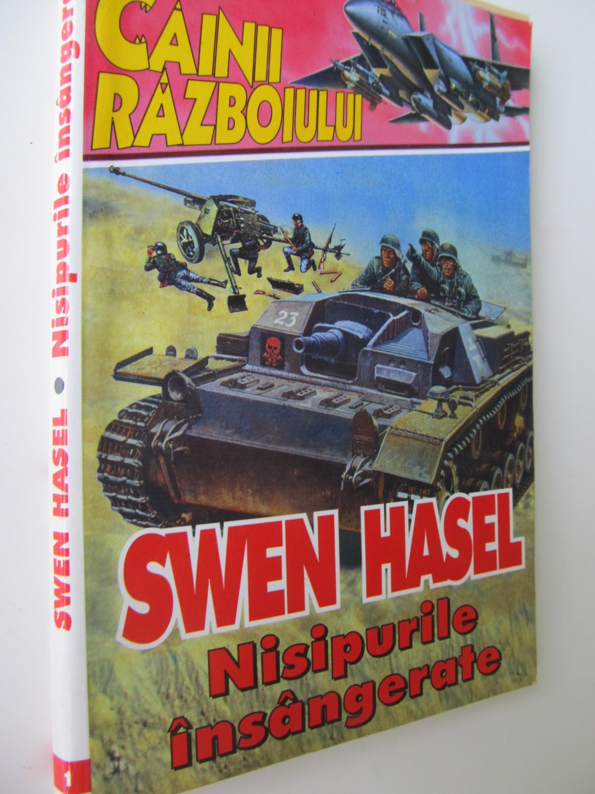 Nisipurile insangerate - Swen Hasel | Detalii carte