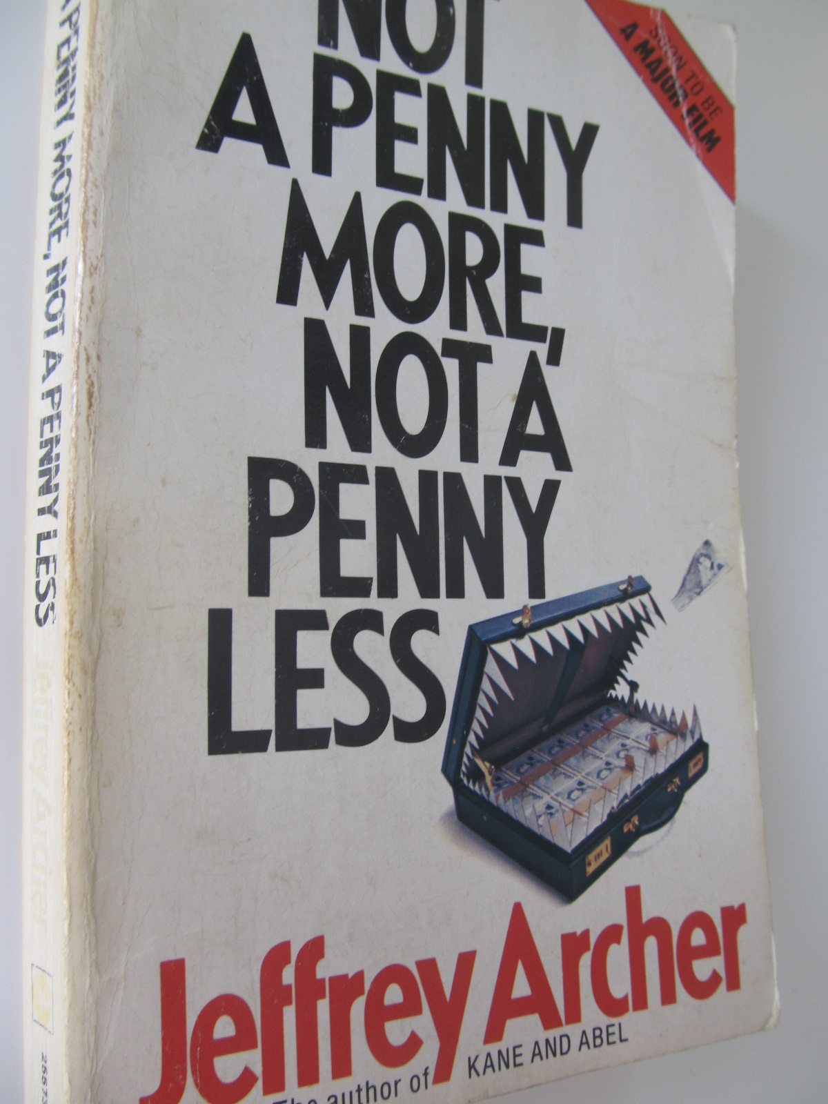 Carte Not a penny more not a penny less - Jeffrey Archer