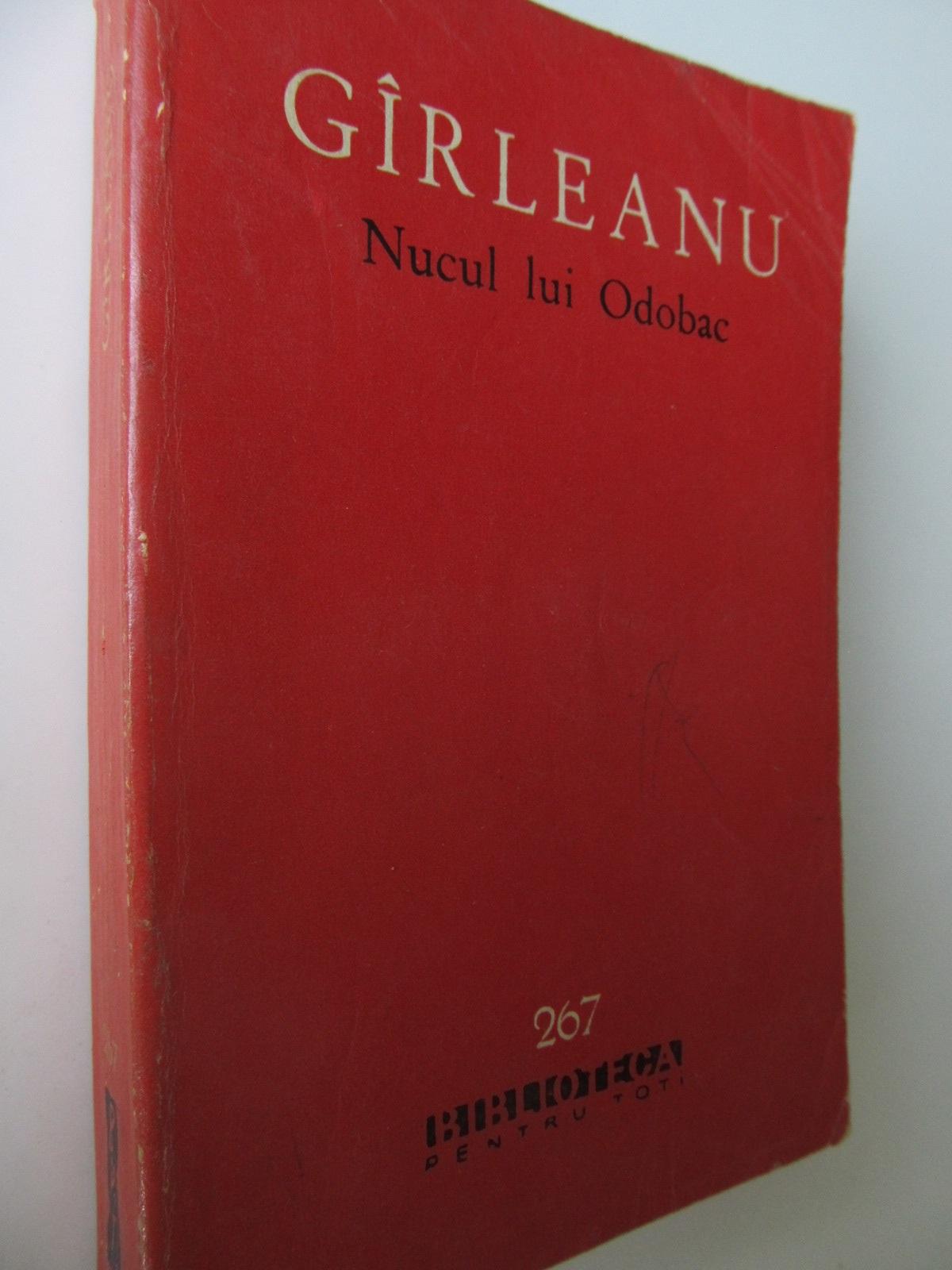 Nucul lui Odoboc - Emil Garleanu   Detalii carte