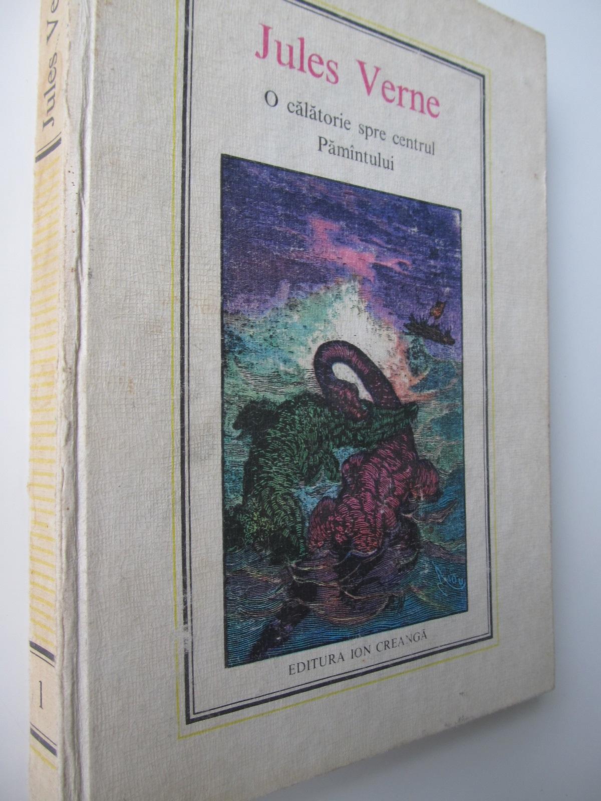 O calatorie spre centrul Pamantului (1) - Jules Verne | Detalii carte