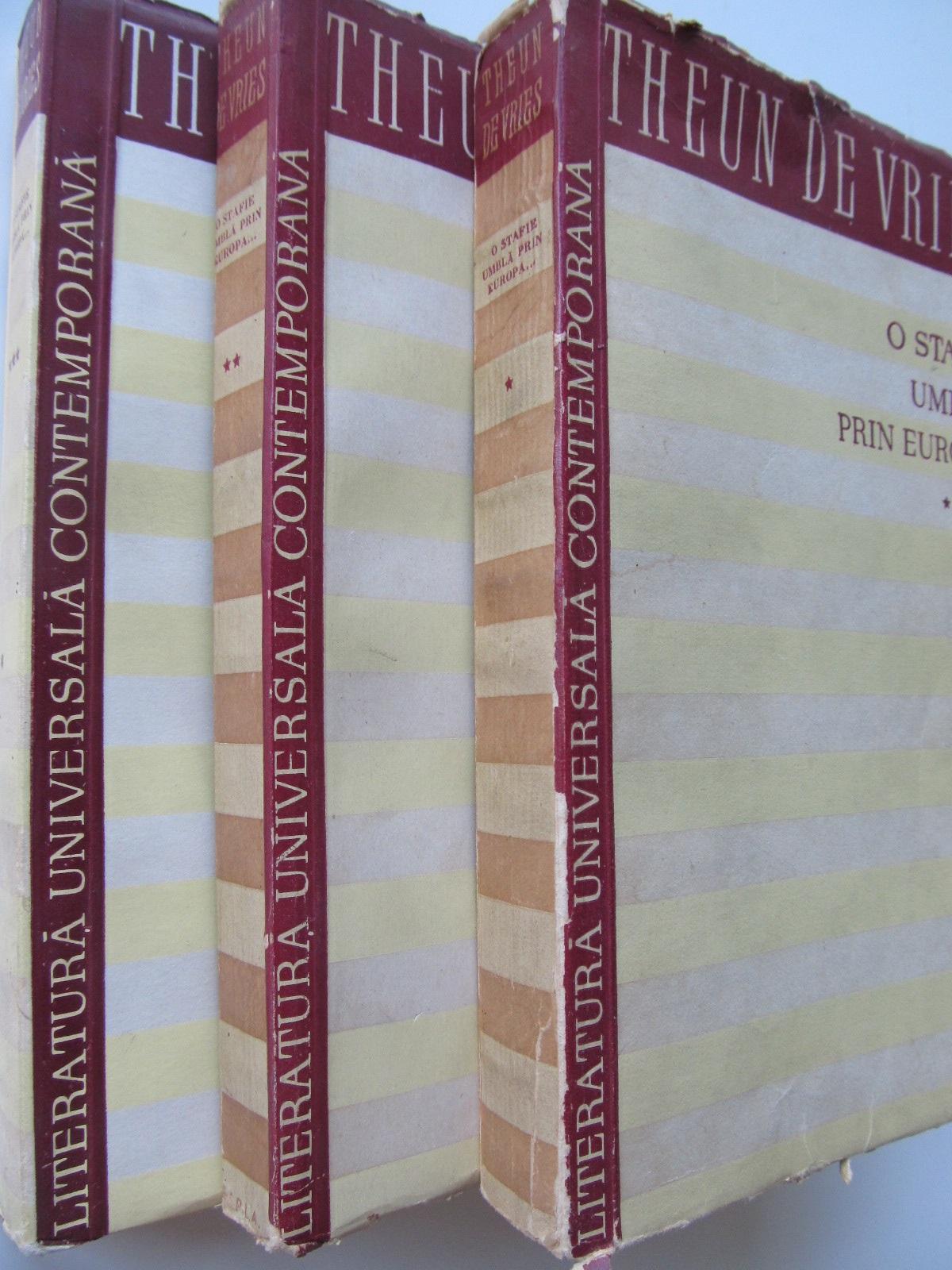 O stafie umbla prin Europa (3 vol.) - Theun De Vries | Detalii carte