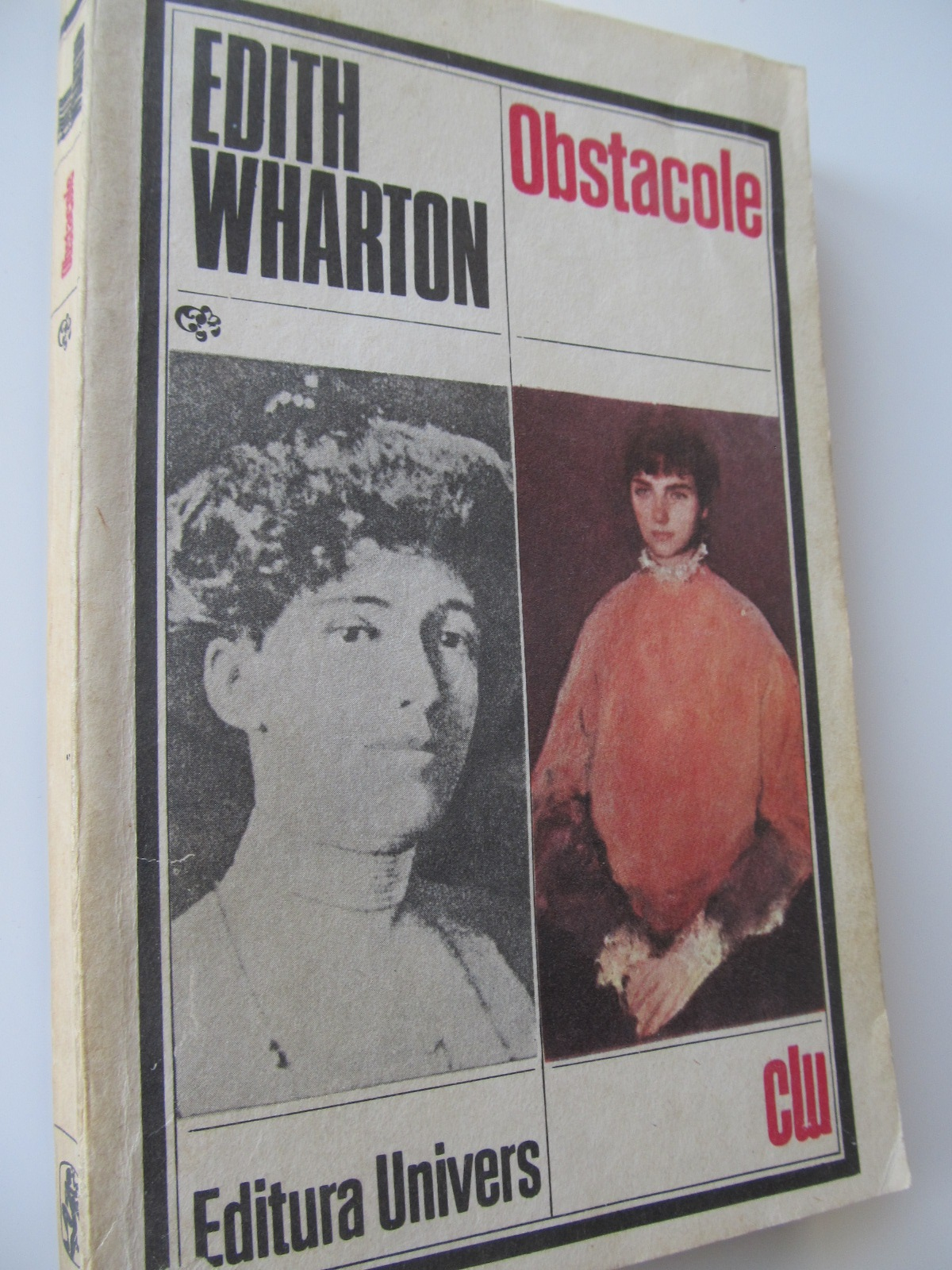 Carte Obstacole - Edith Wharton
