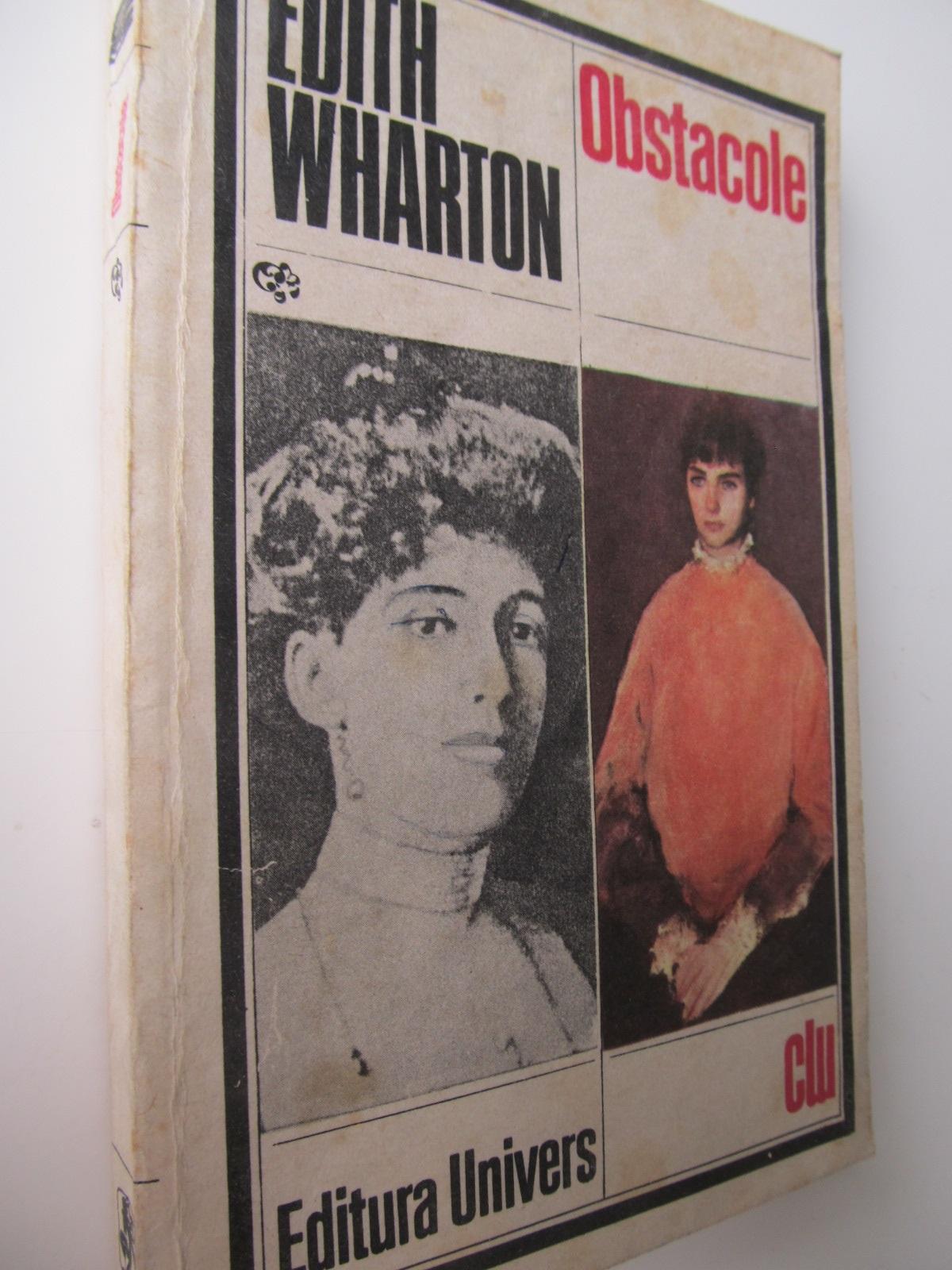 Obstacole - Edith Wharton | Detalii carte