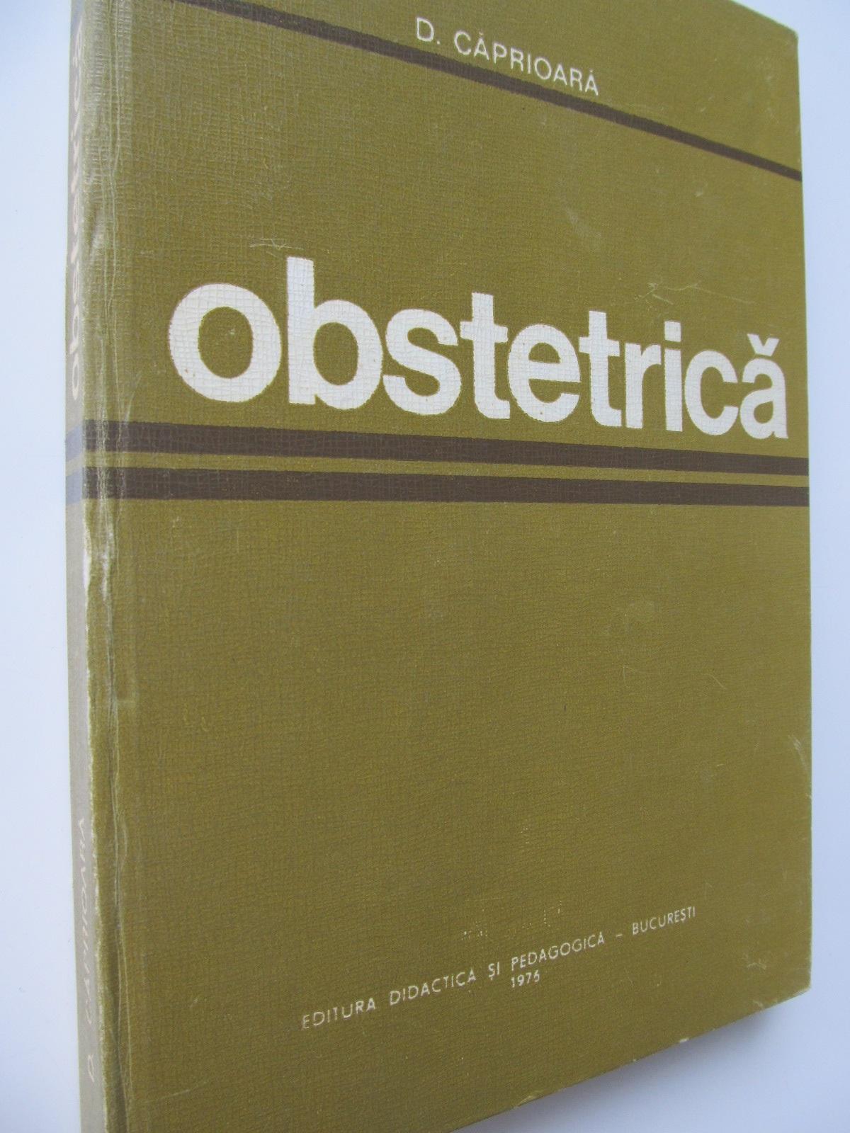 Obstetrica - D. Caprioara | Detalii carte