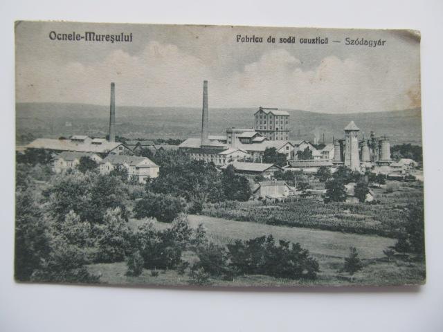 Ocnele Muresului - Fabrica de soda caustica , circulata , 1928 - *** | Detalii carte