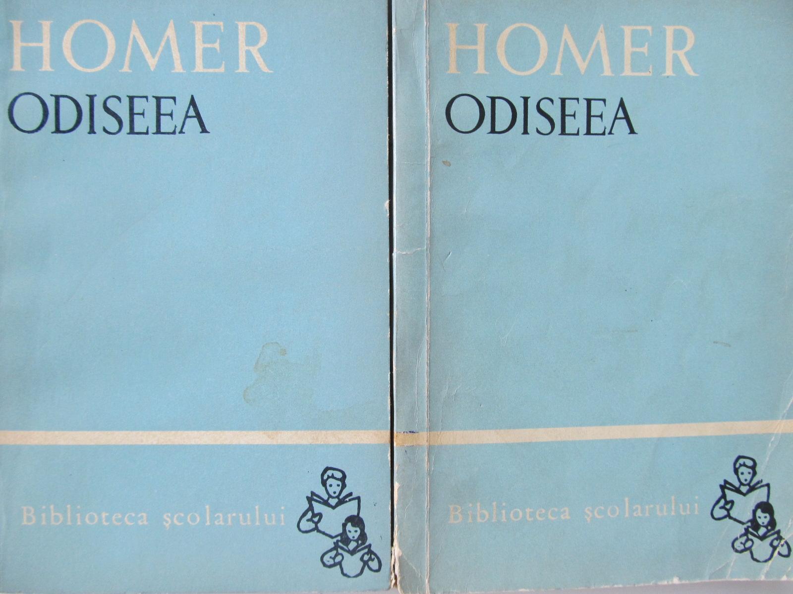 Odiseea (2 vol.) - Homer | Detalii carte