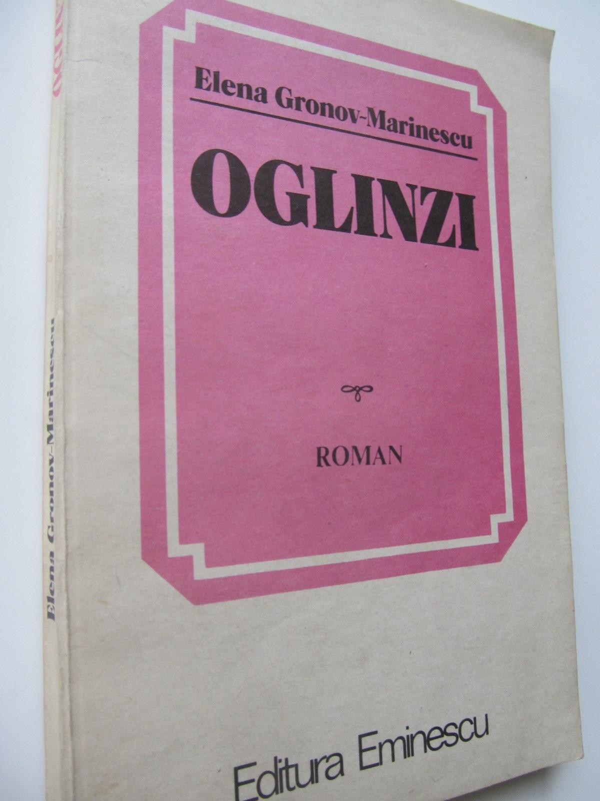Oglinzi - Elena Gronov Marinescu   Detalii carte