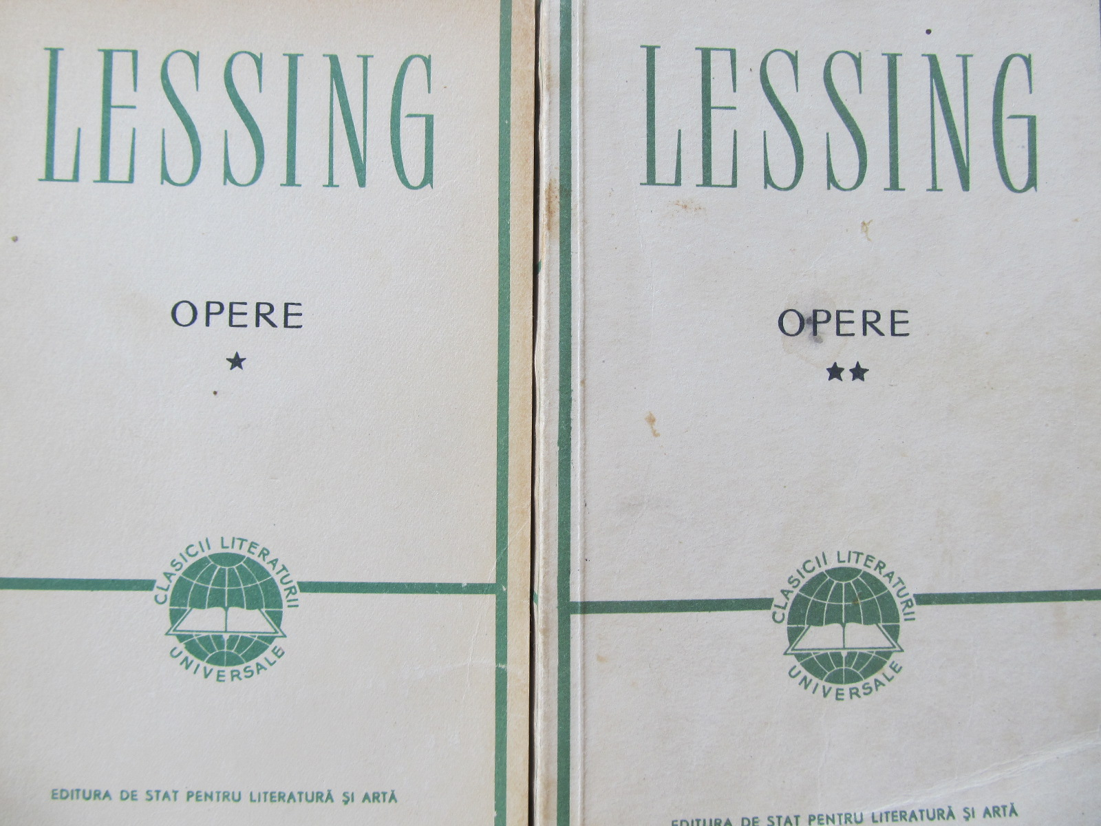 Opere (2 vol.) - G. E. Lessing | Detalii carte