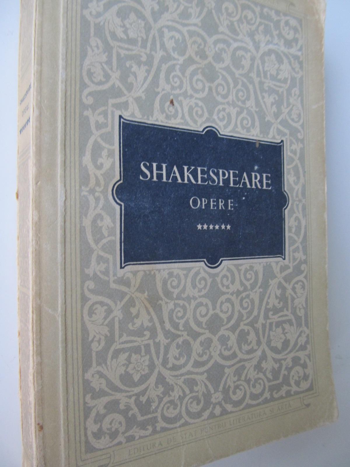 Opere (vol. 6) - Henric al VI-lea - W. Shakespeare   Detalii carte