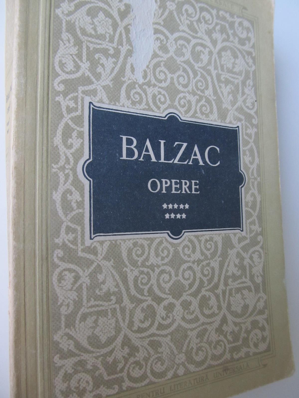 Opere (vol. 9) - H. de Balzac   Detalii carte