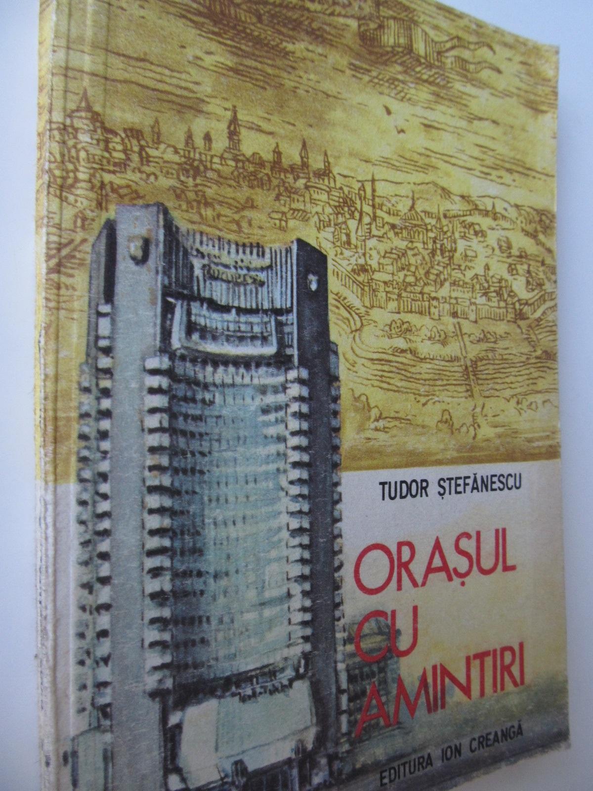 Orasul cu amintiri - Tudor Stefanescu | Detalii carte