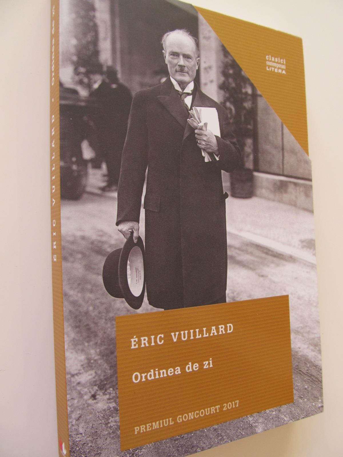 Ordinea de zi - Eric Vuillard | Detalii carte