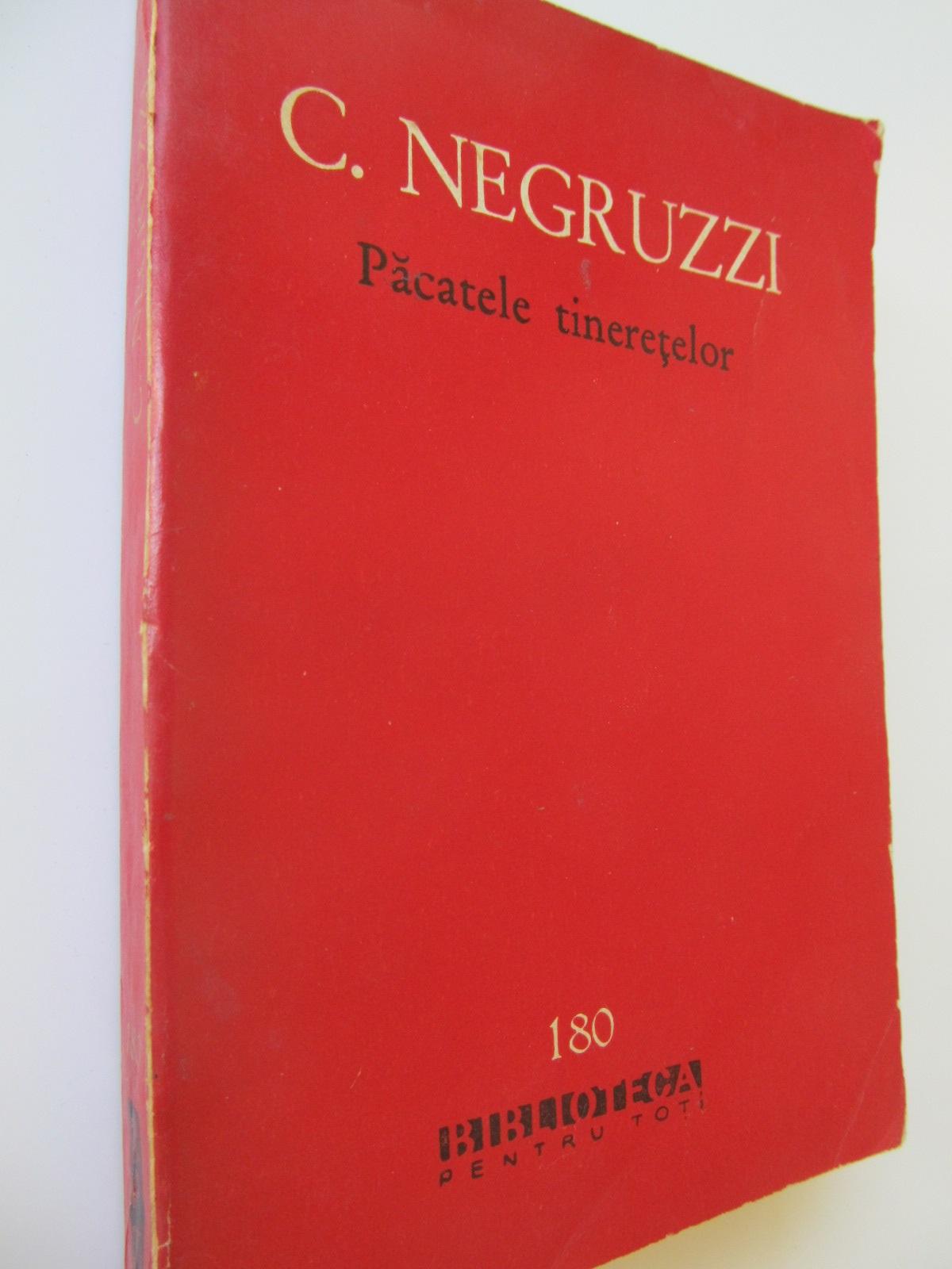 Pacatele tineretelor - C. Negruzzi | Detalii carte