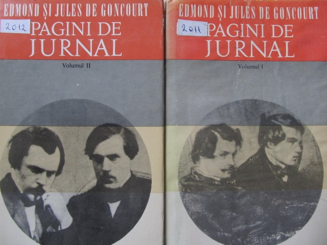 Pagini de jurnal (2 vol.) - Edmond Goncourt , Jules Goncourt | Detalii carte