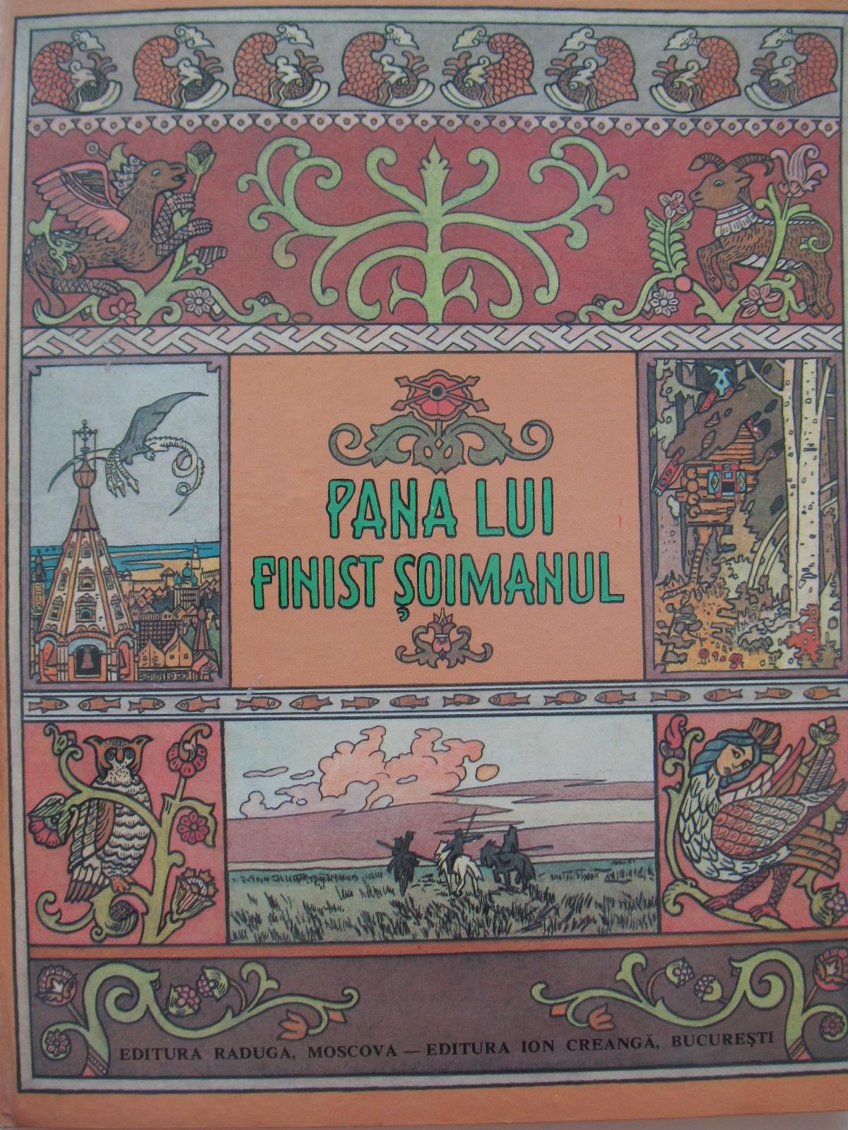 Pana lui Finist Soimanul - Basme fantastice rusesti (format foarte mare) - *** | Detalii carte