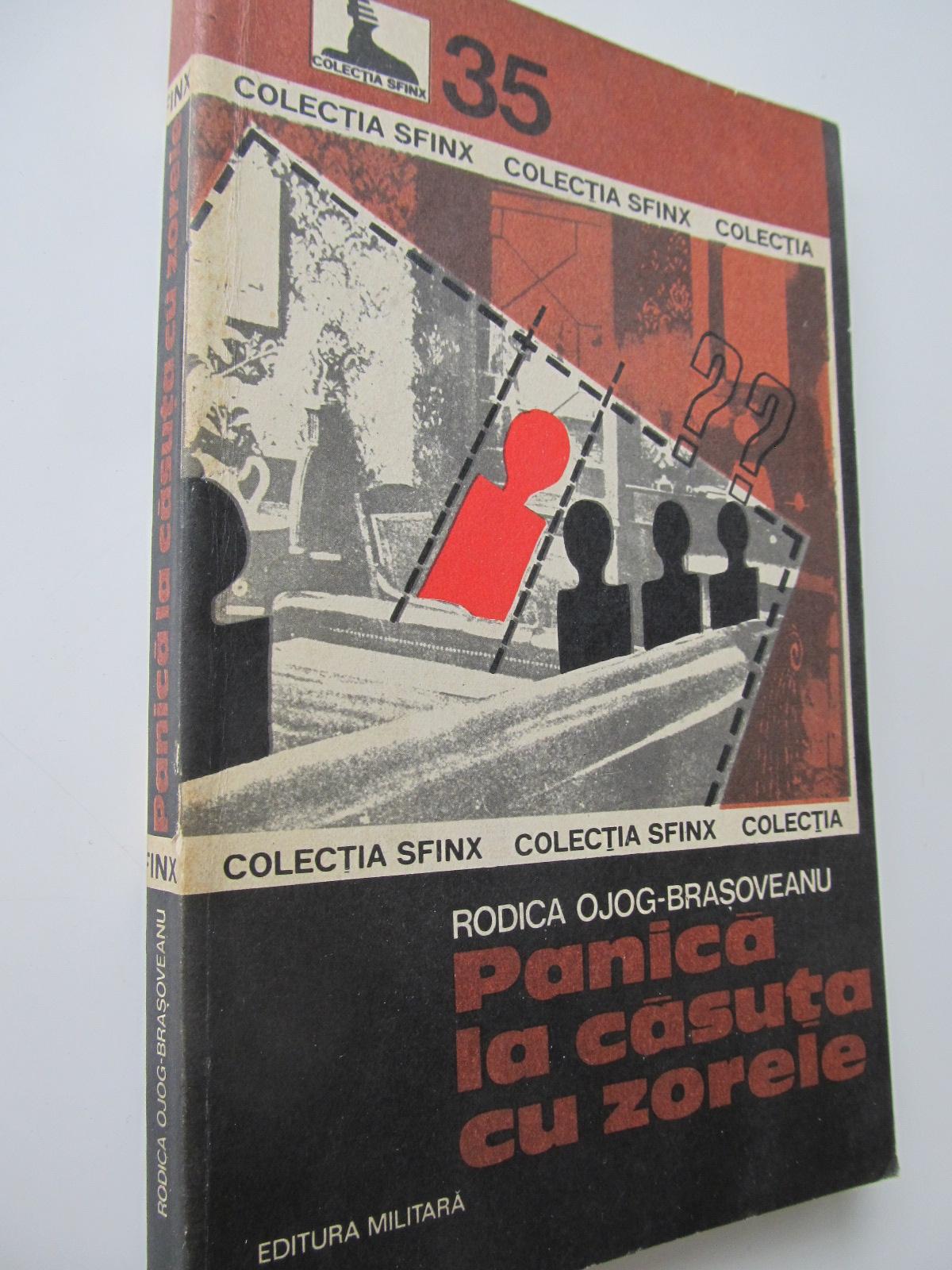 Panica la casuta cu zorele - Rodica Ojog Brasoveanu | Detalii carte