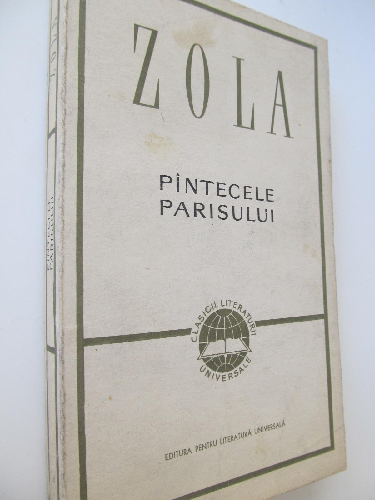 Pantecele Parisului - Emile Zola | Detalii carte