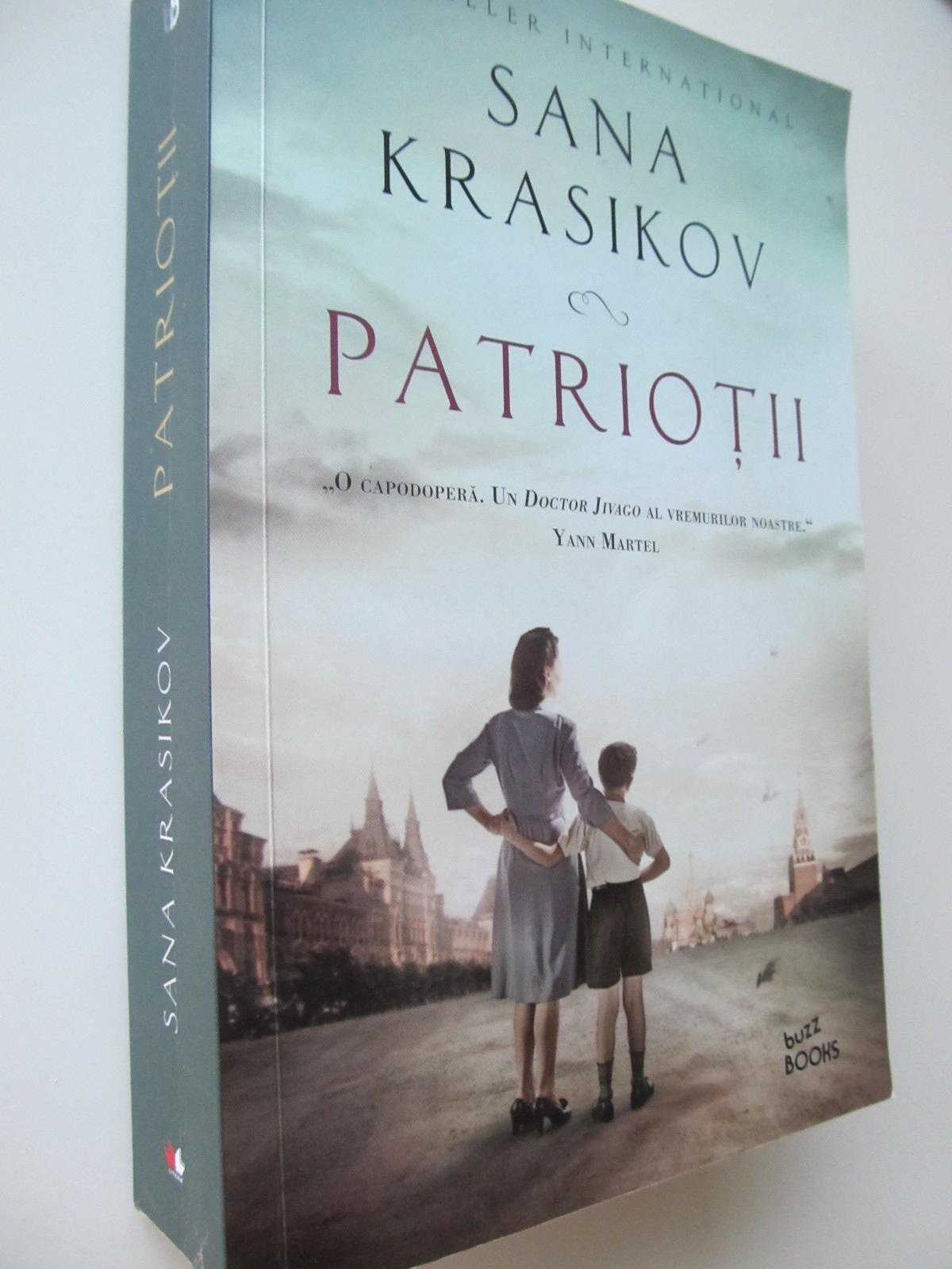 Patriotii - Sana Krasikov | Detalii carte