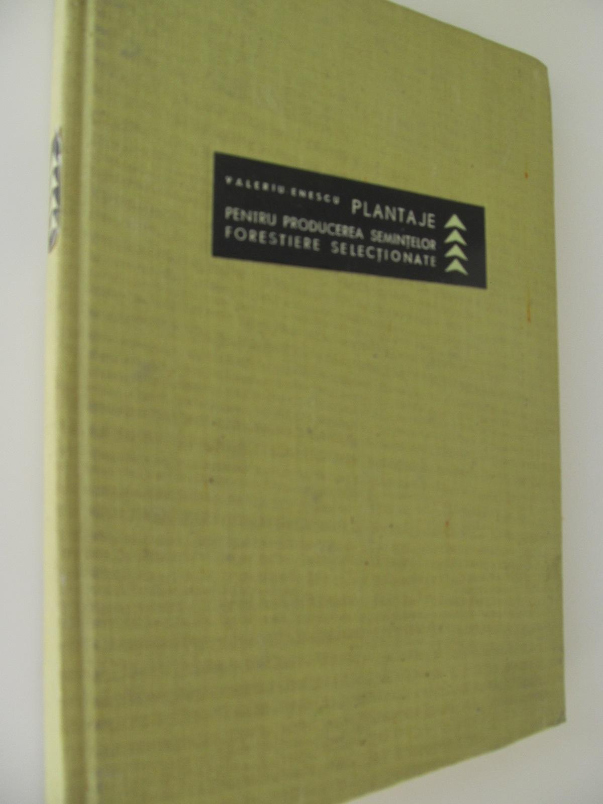 Plantaje pentru producerea semintelor forestiere selectionate - Valeriu Enescu | Detalii carte