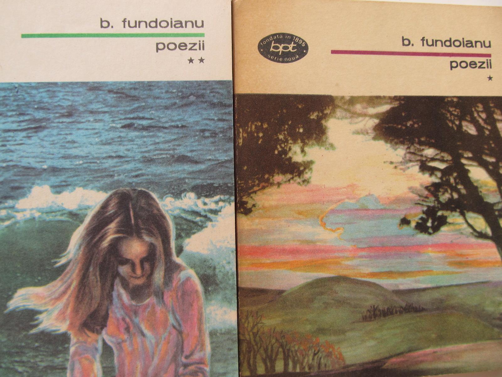 Poezii (2 vol.) - B. Fundoianu | Detalii carte