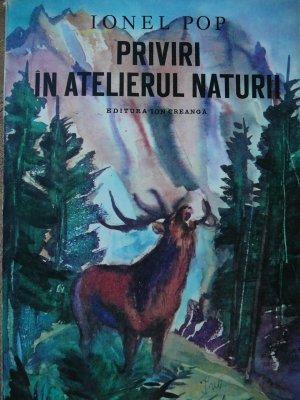 Priviri in atelierul naturii [1] - Ionel Pop | Detalii carte