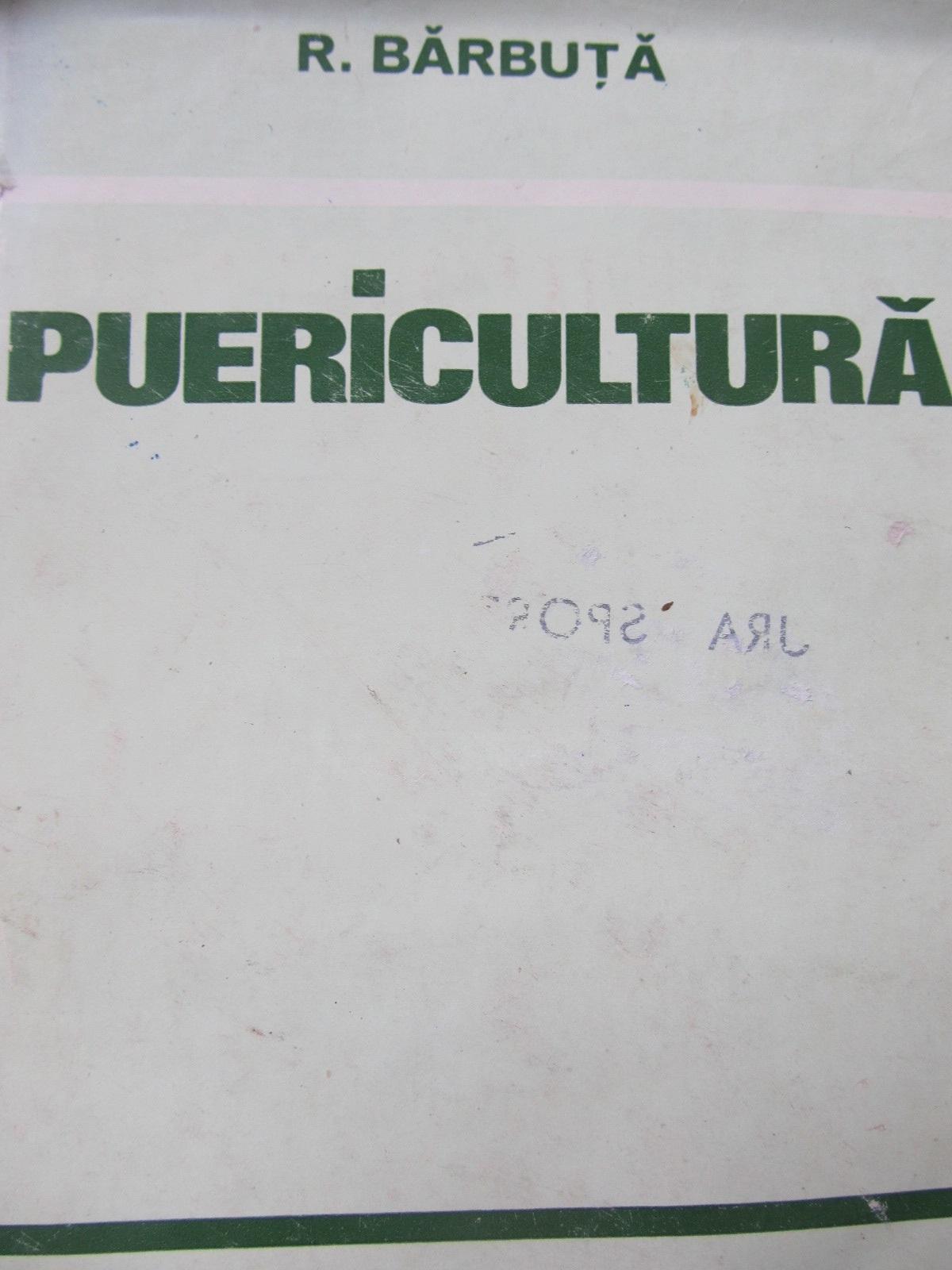 Puericultura - R. Barbuta | Detalii carte