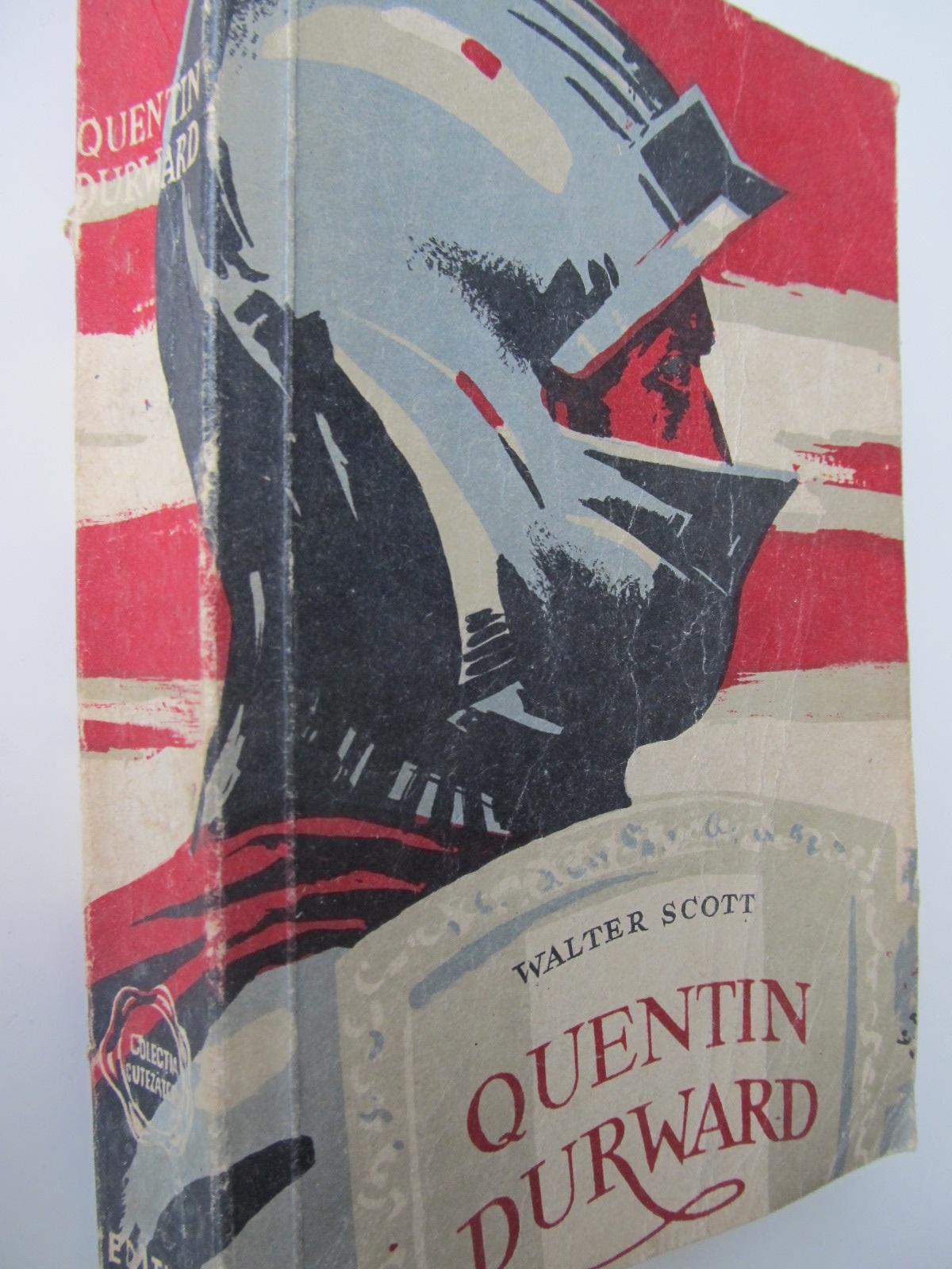Carte Quentin Durward - Walter Scott