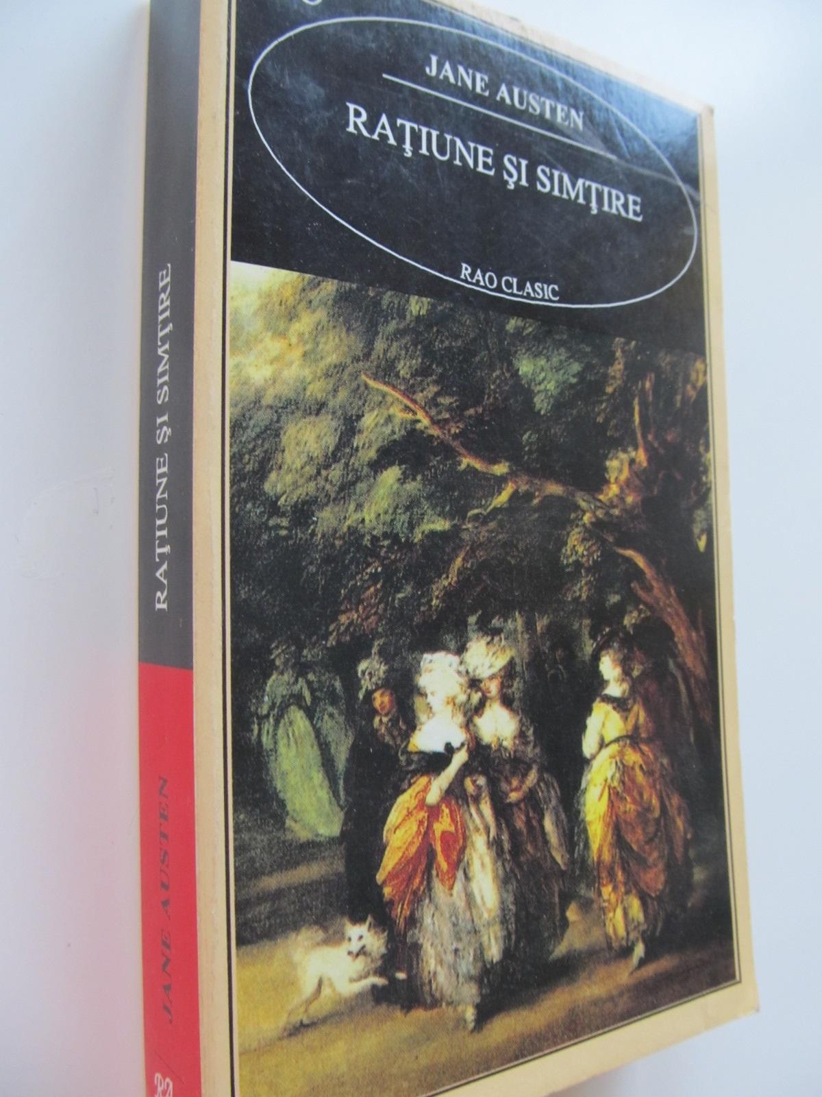 Ratiune si simtire - Jane Austen | Detalii carte