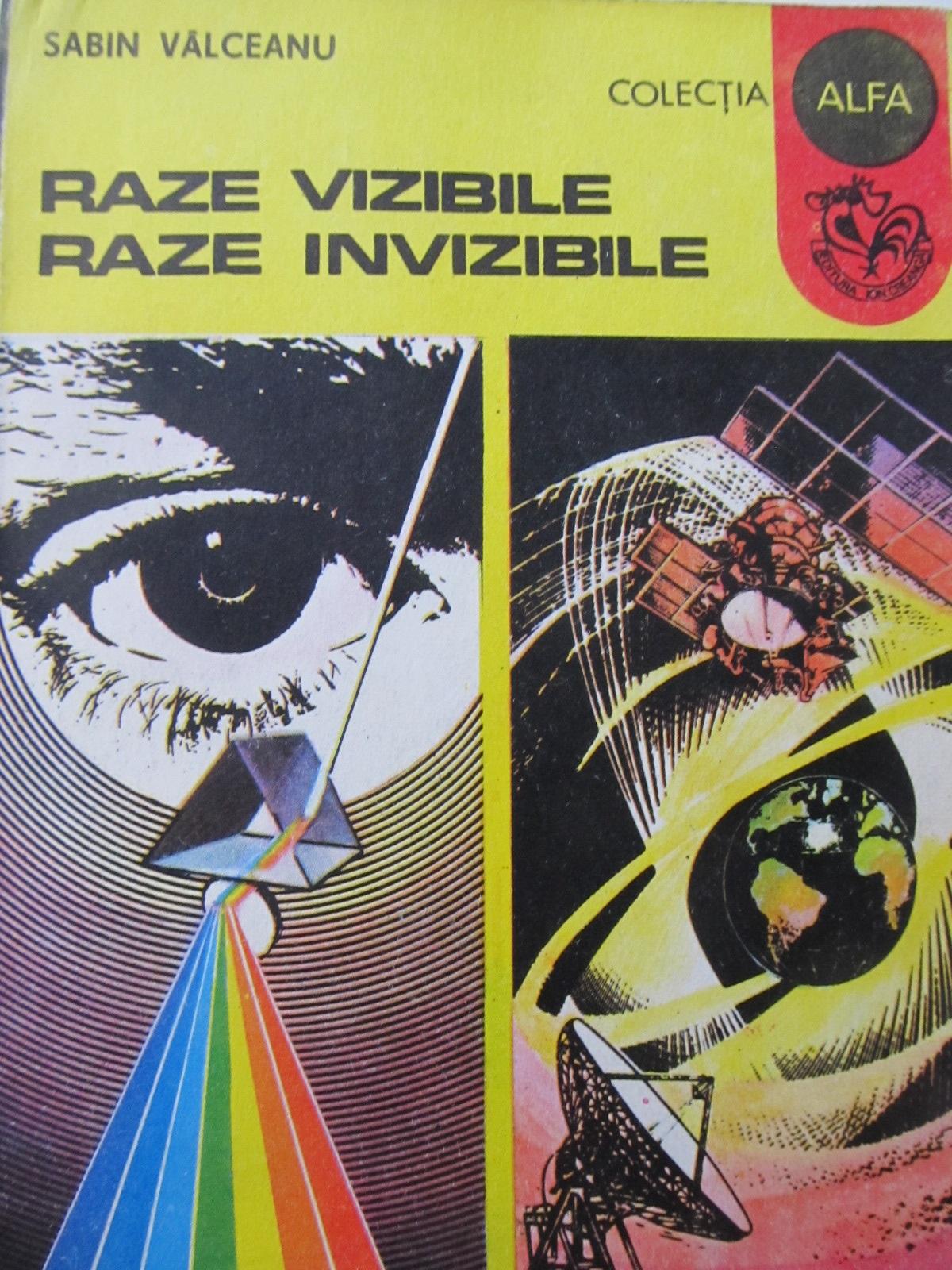 Raze vizibile raze invizibile - Sabin Valceanu | Detalii carte