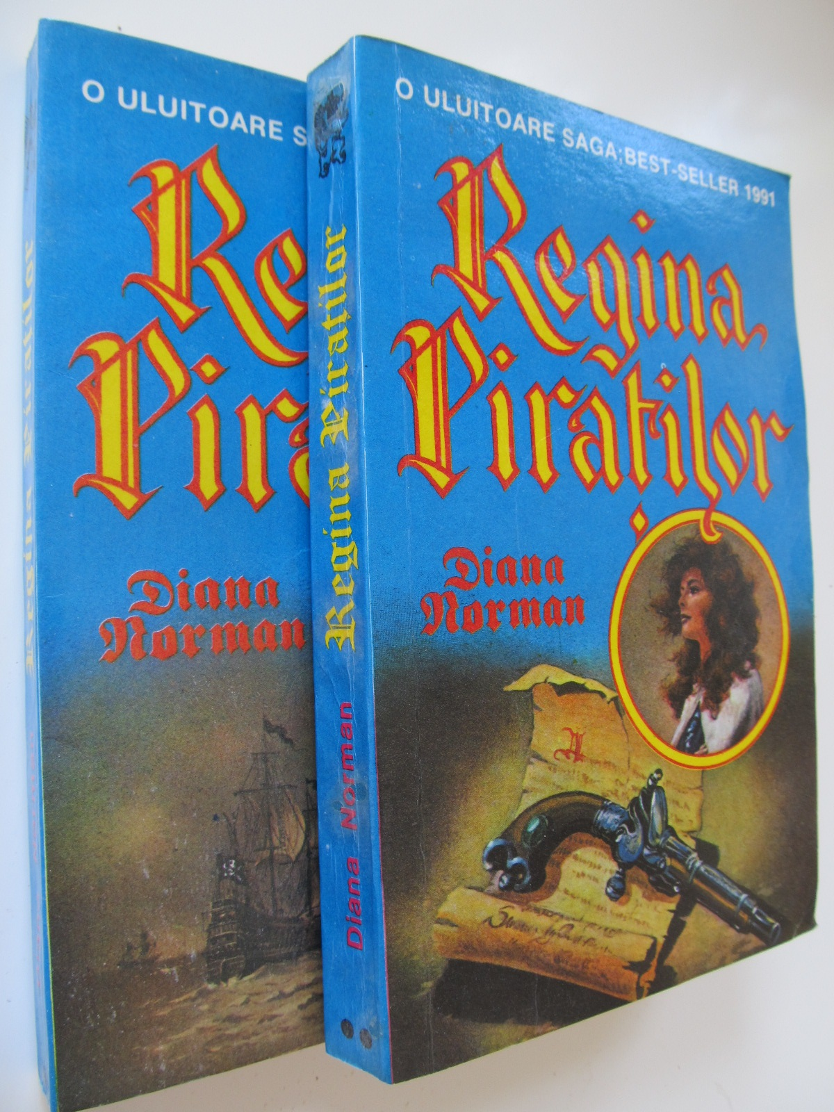 Carte Regina piratilor (2 vol) - Diana Norman