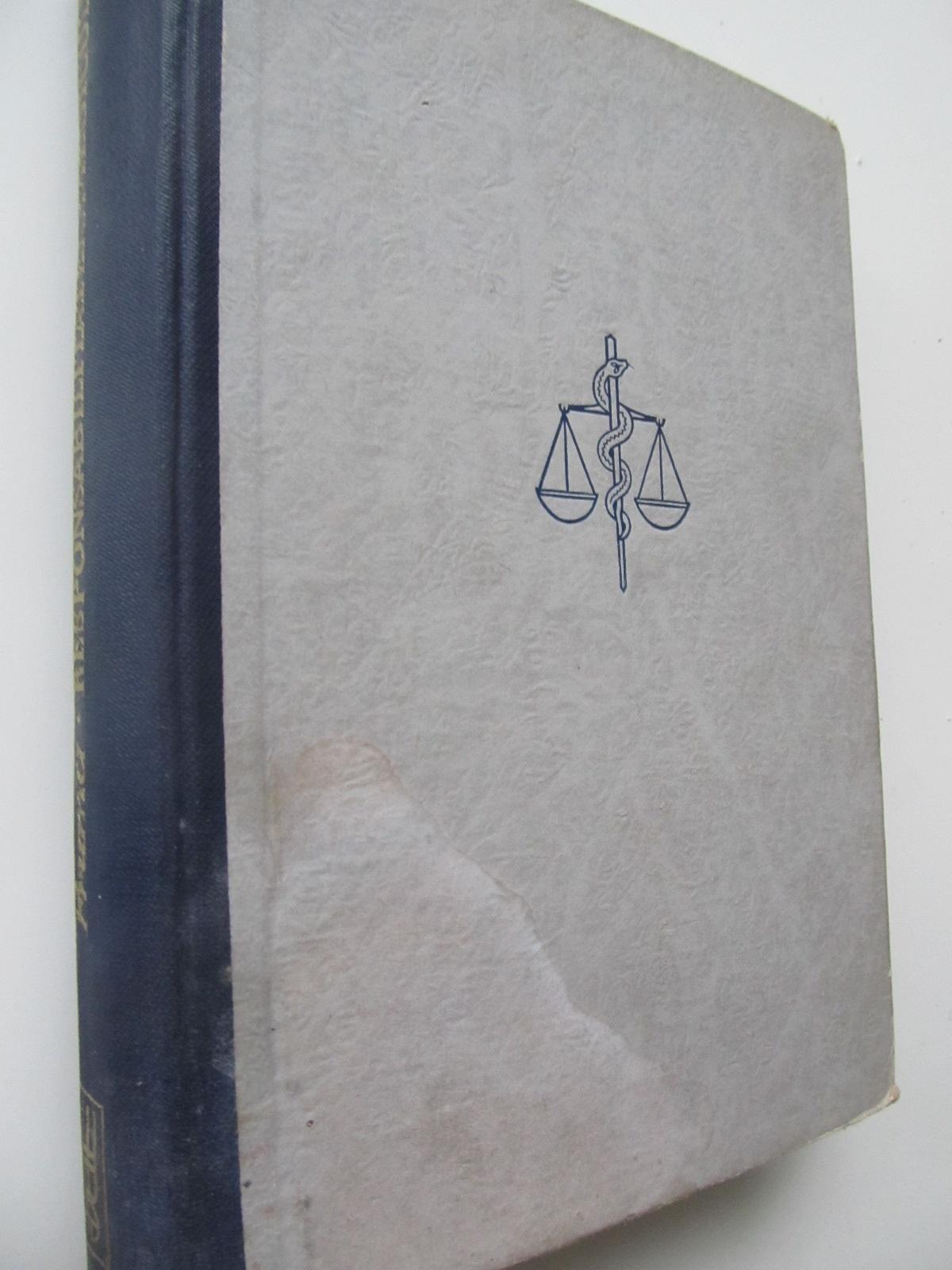 Responsabilitatea medicului , 1944 - Ioan Fruma | Detalii carte
