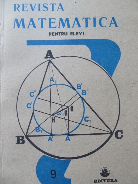 Revista matematica pentru elevi Nr. 9 / 1990 - *** | Detalii carte