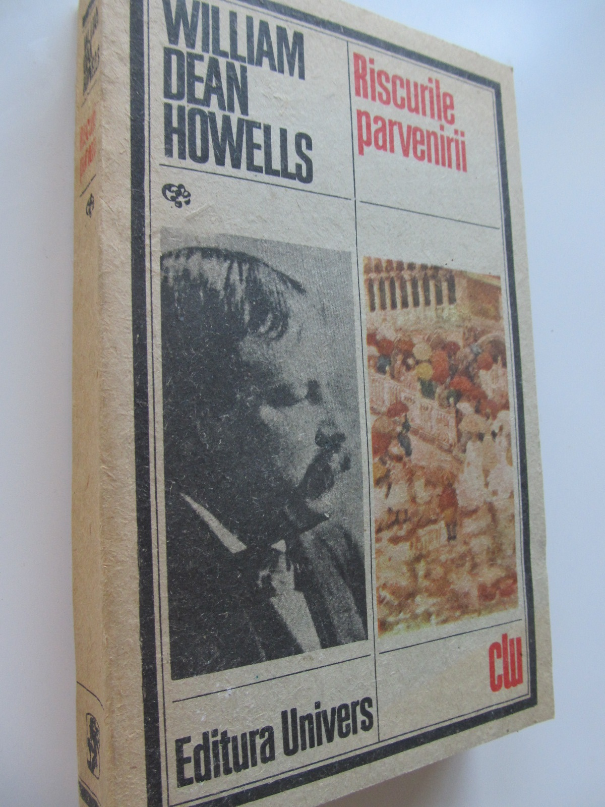 Carte Riscurile parvenirii - William Dean Howells