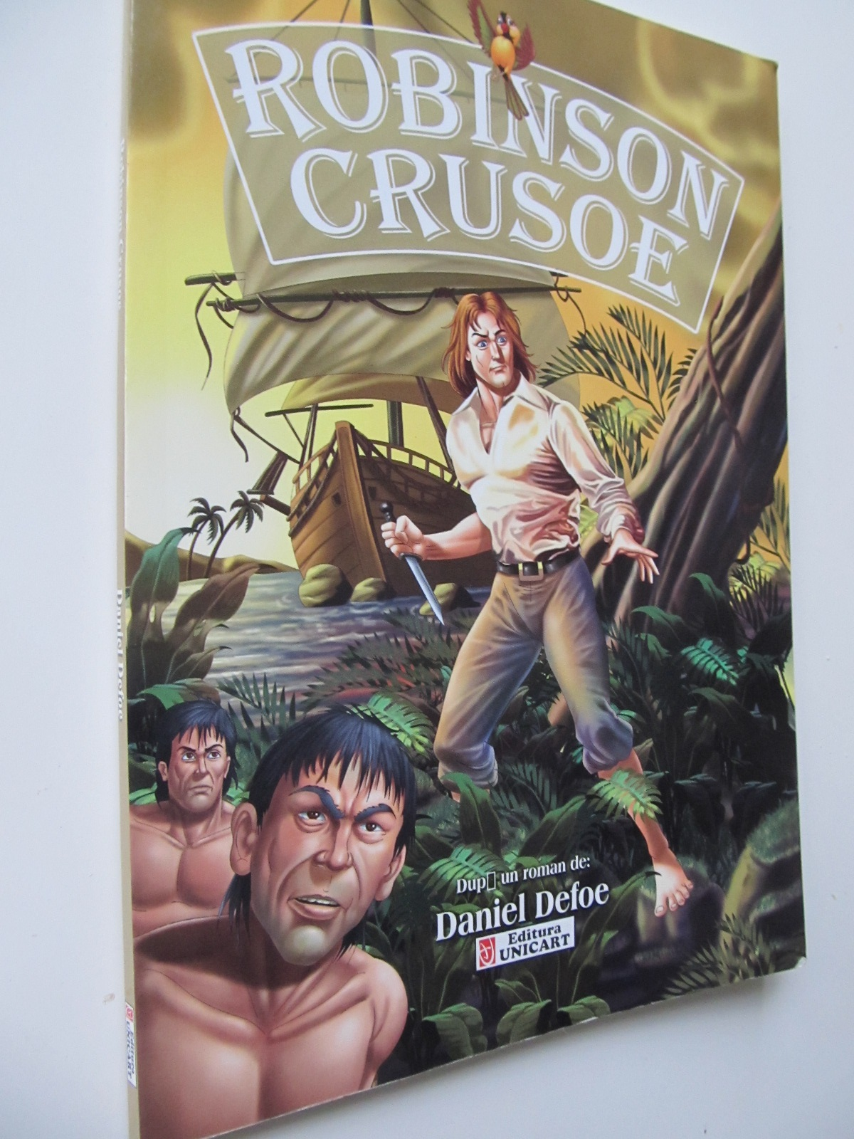 Robinson Crusoe - dupa Daniel Defoe | Detalii carte