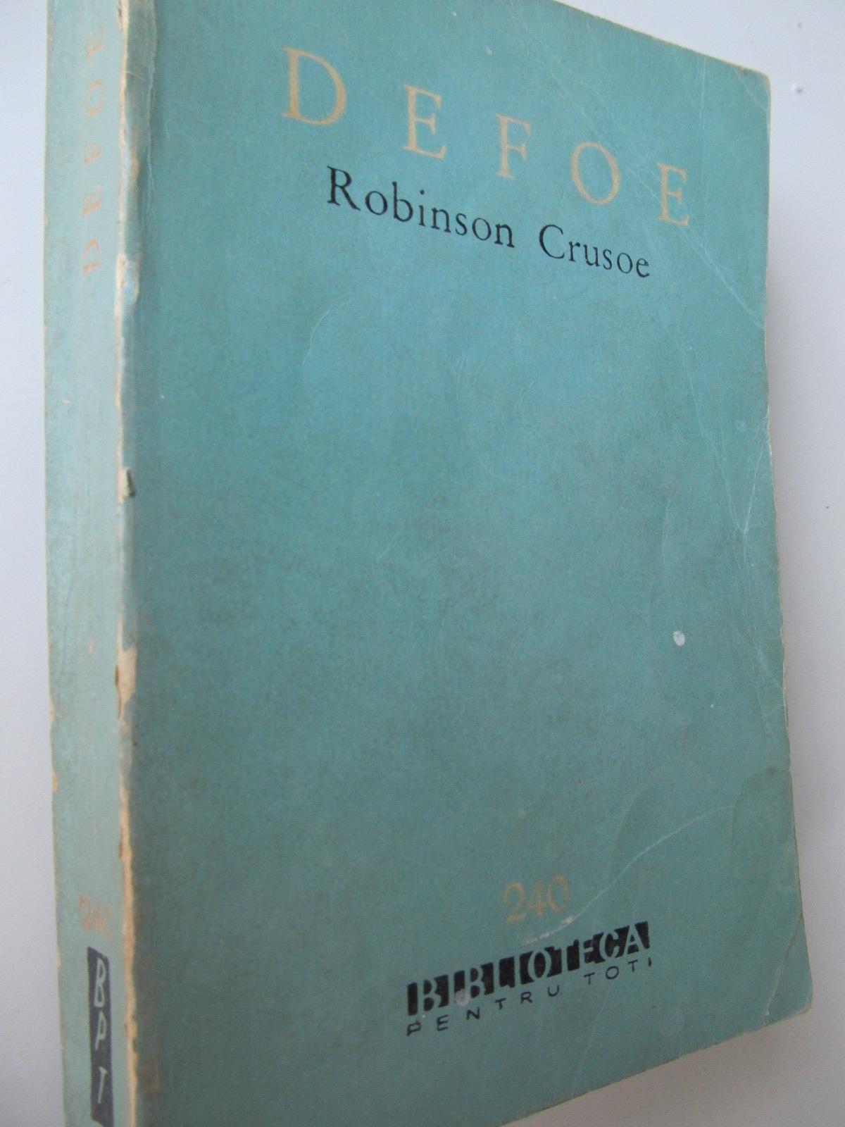 Robinson Crusoe - Daniel Defoe | Detalii carte