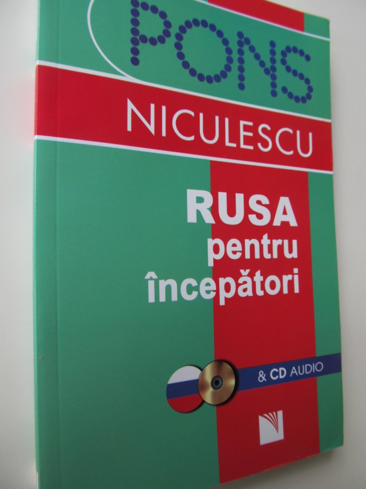 Rusa pentru incepatori (cu CD audio) - Victoria Wildemann   Detalii carte
