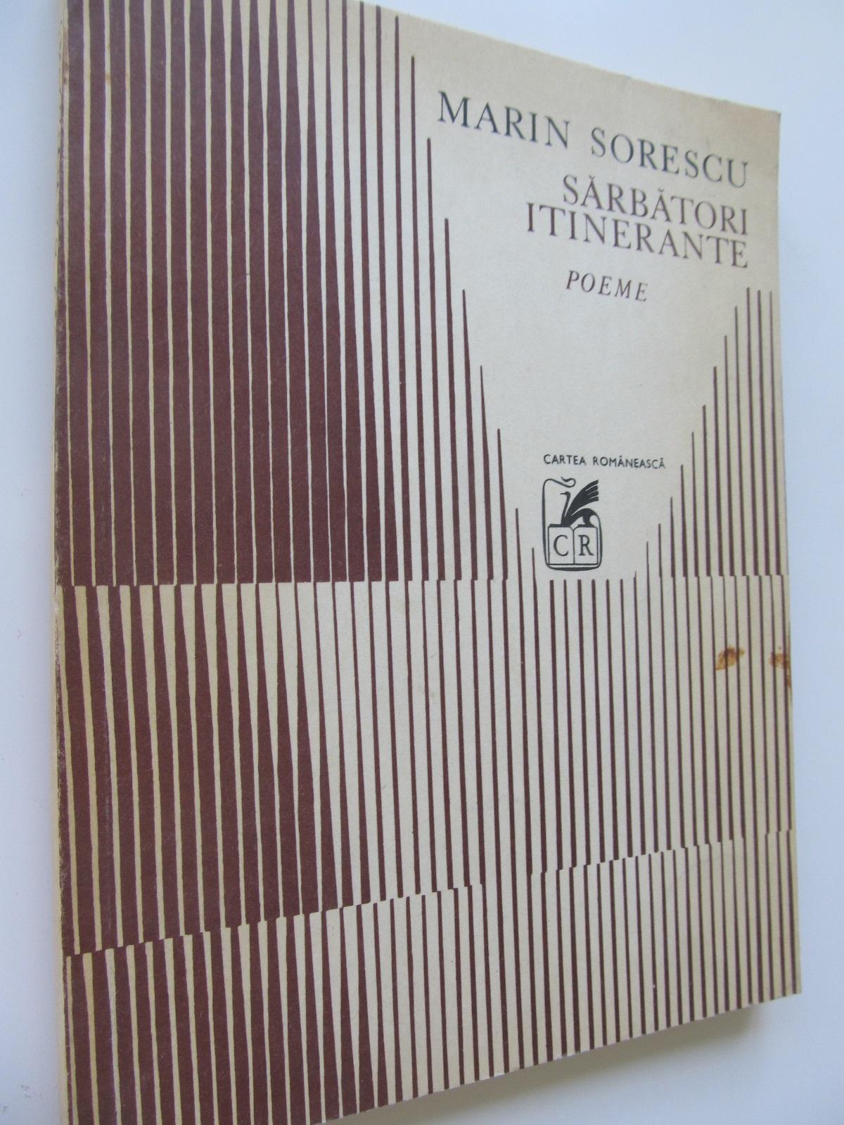 Sarbatori itinerante - Marin Sorescu | Detalii carte