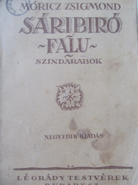 Carte Saribiro falu - szindarabok - Moricz Zsigmond