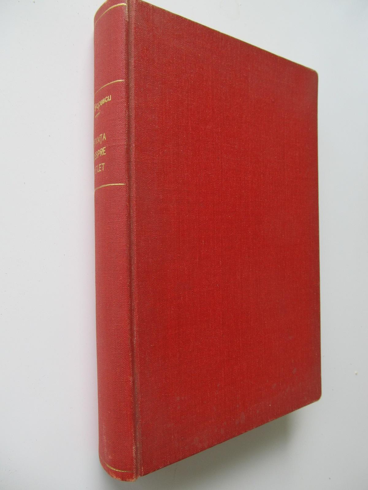 Sciinta despre suflet -I. Popescu - Ipoteze si precizari in stiinta sufletului - Ralea , 1926 (colegate) - i. Popescu , Mihai D. Ralea | Detalii carte