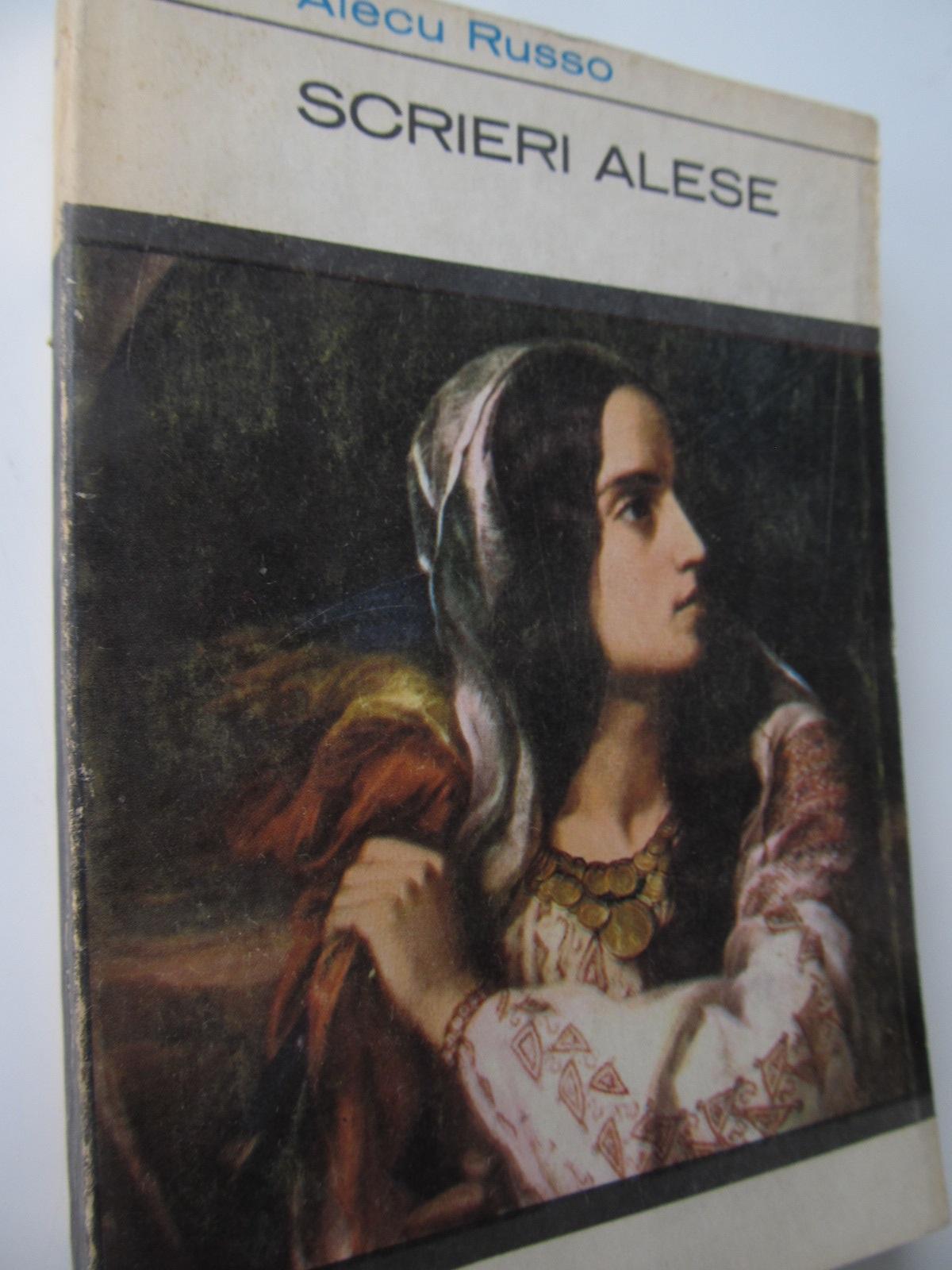 Scrieri alese - Alecu Russo | Detalii carte