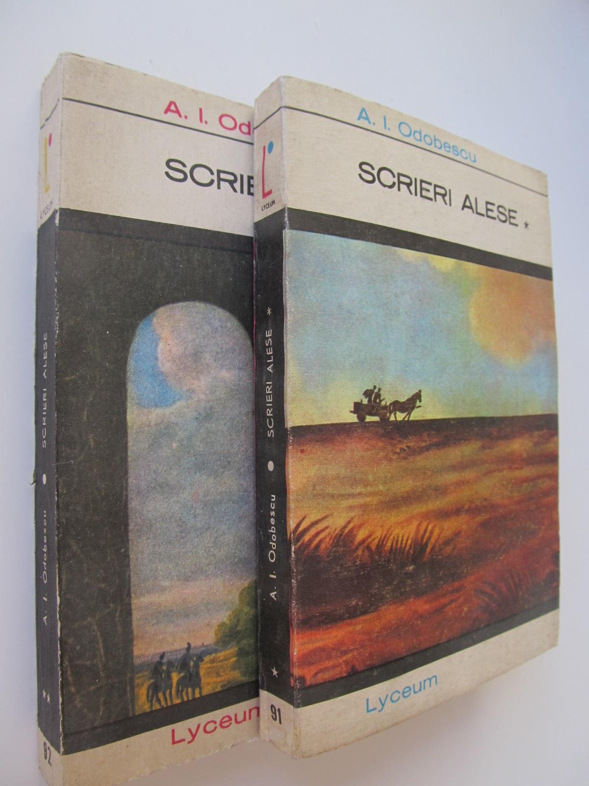 Scrieri alese (2 vol.) - A. I. Odobescu | Detalii carte