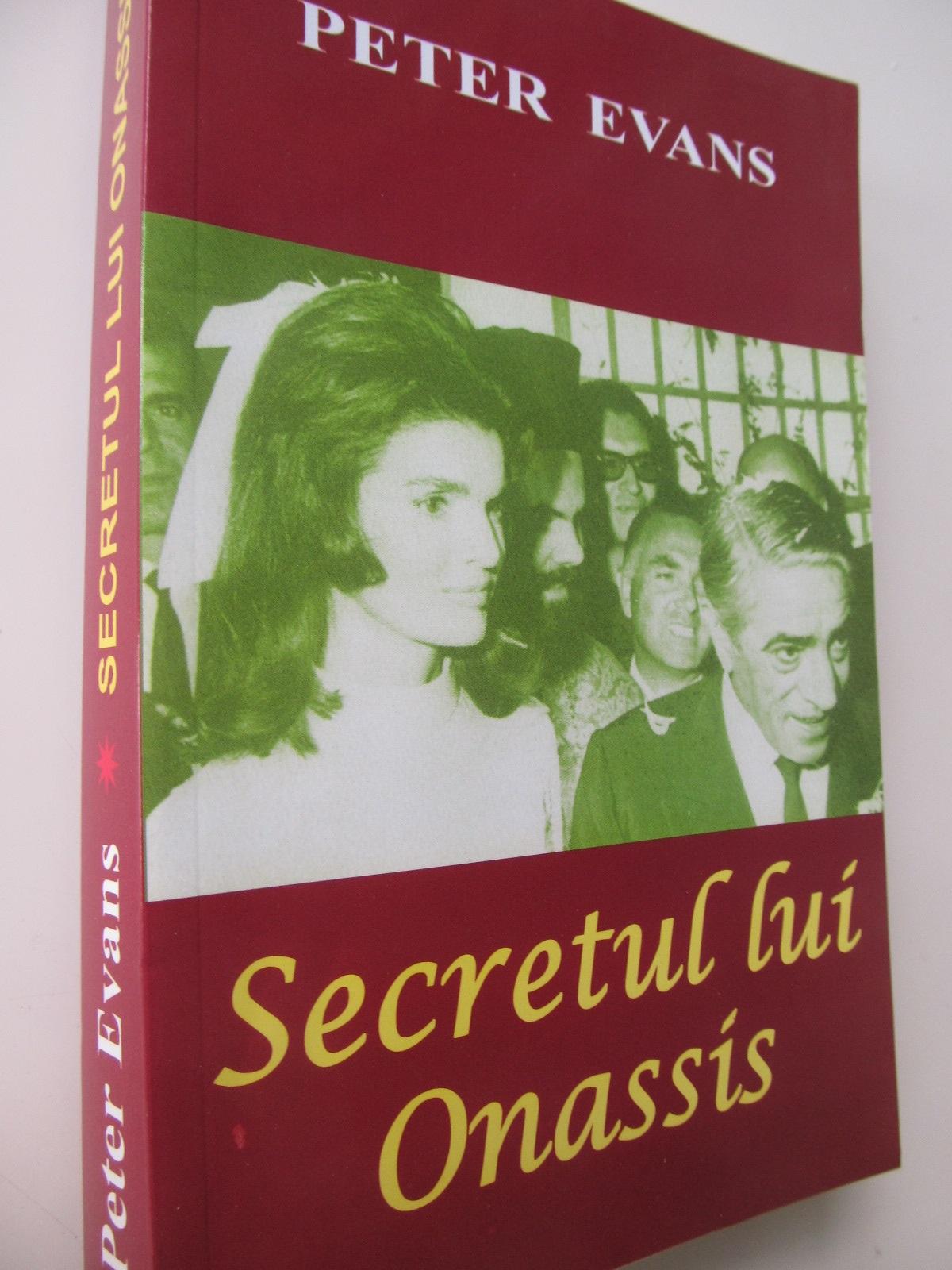 Secretul lui Onassis - Peter Evans   Detalii carte