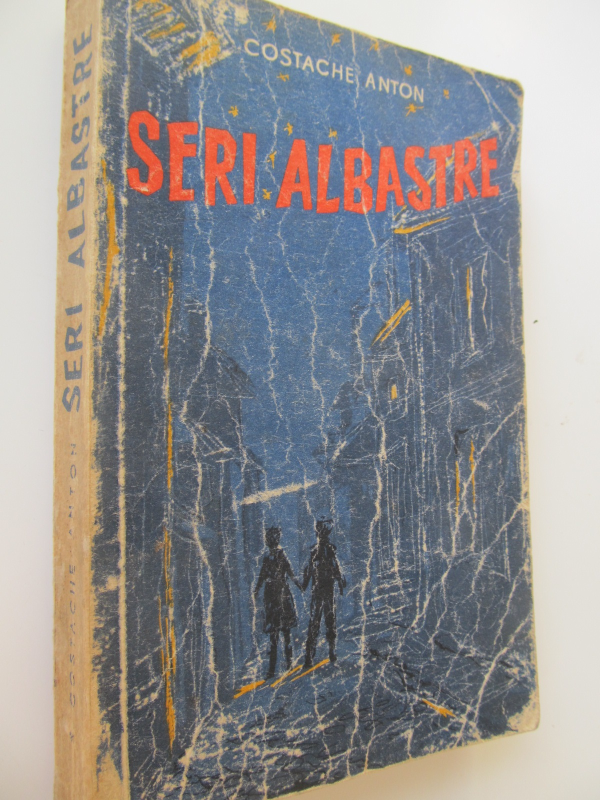Seri albastre - Costache Anton | Detalii carte