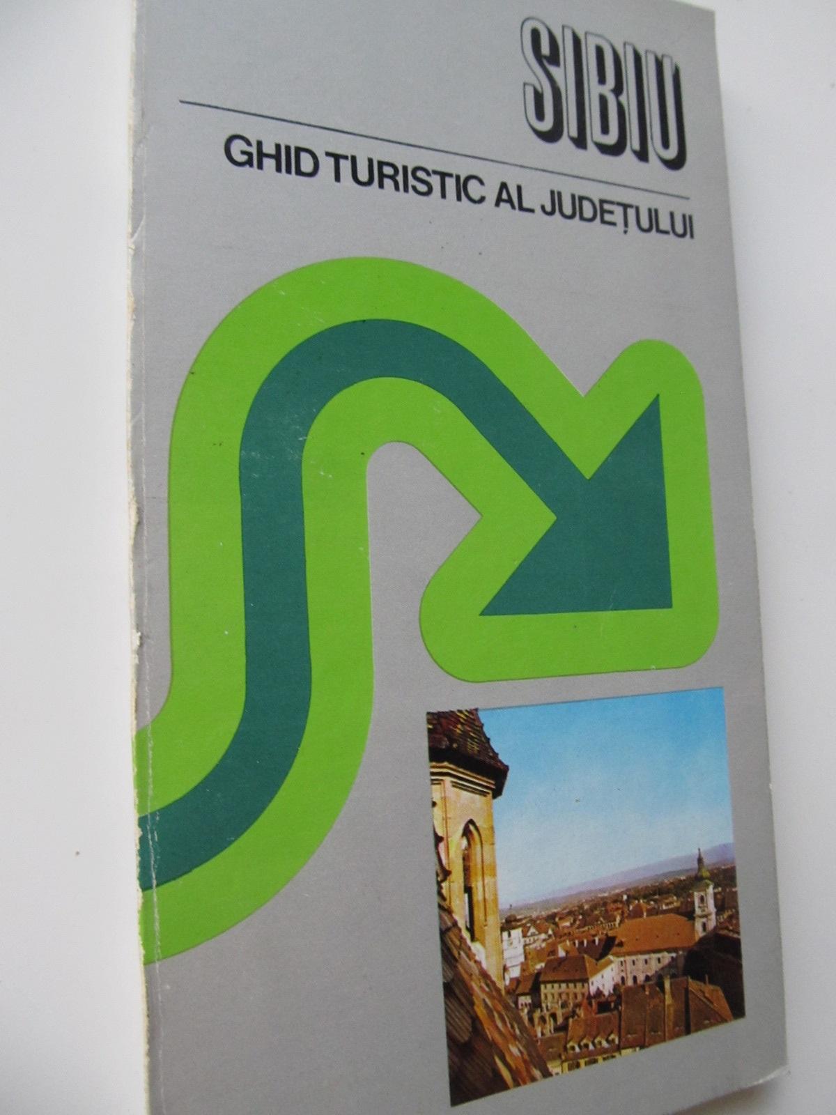 Sibiu - Ghid turistic al judetului (cu harta) - Victor Voicu Vedea , ... | Detalii carte
