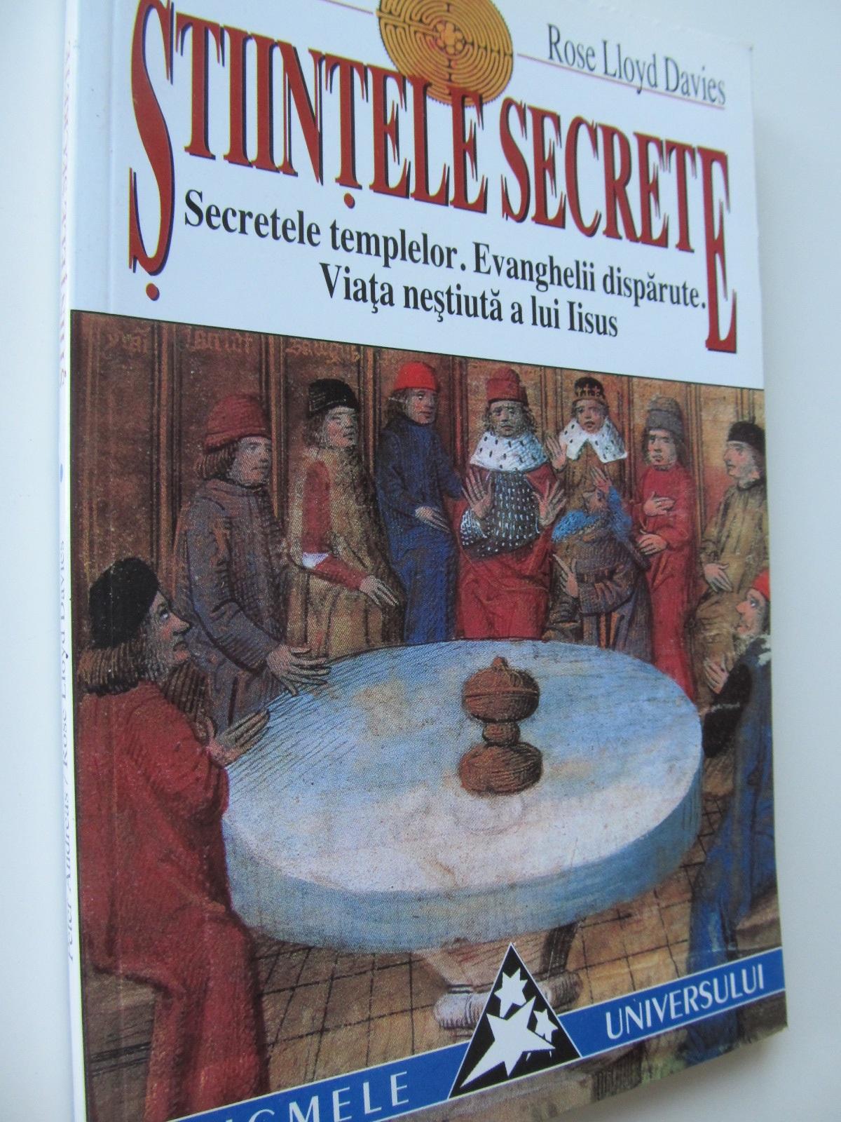 Stiintele secrete Secretele templelor Evanghelii disparute Viata nestiuta a lui Iisus - Peter Andreas.. | Detalii carte