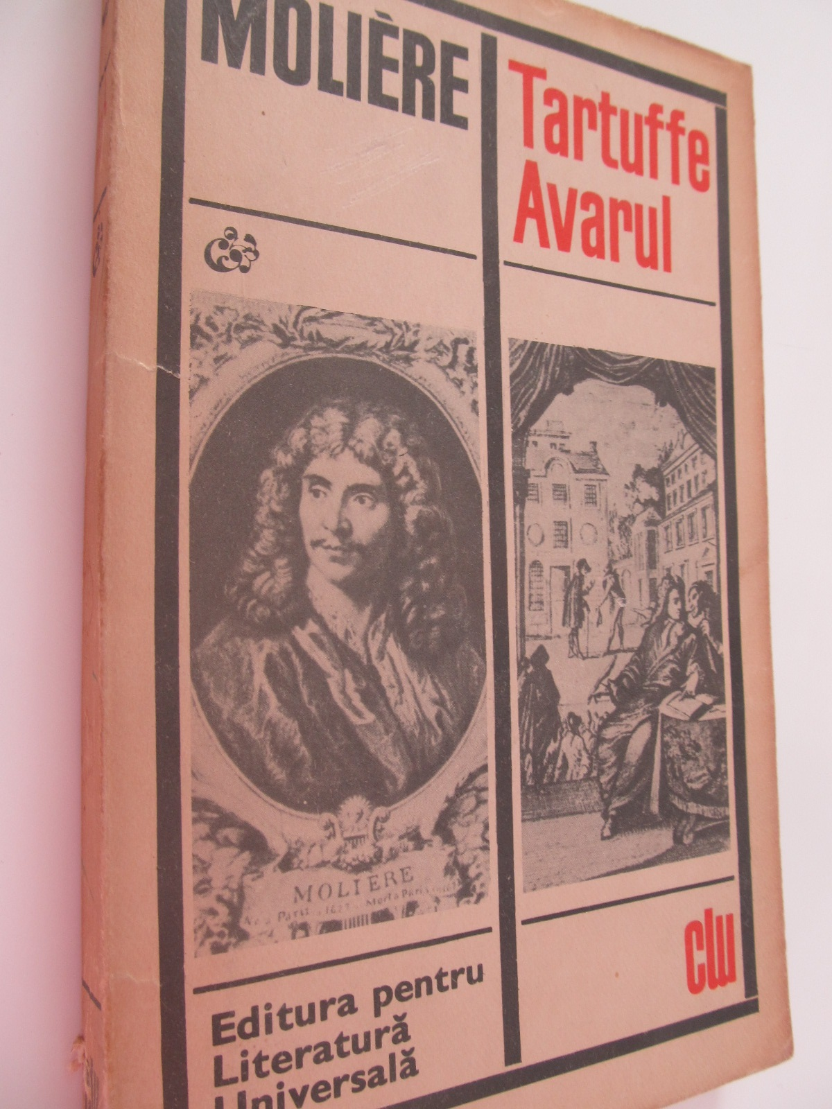 Carte Tartuffe Avarul - Moliere