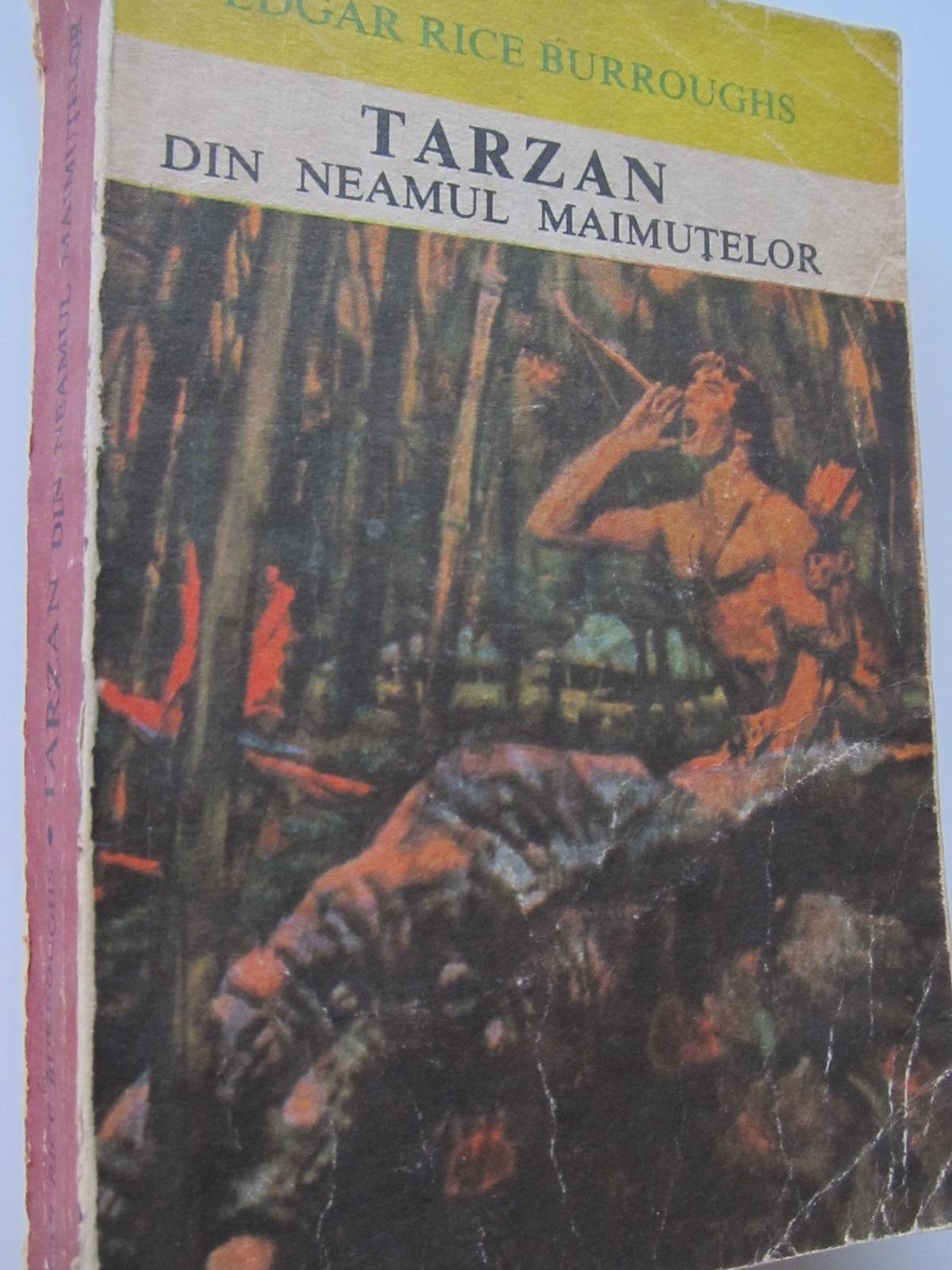 Tarzan din neamul maimutelor - Edgar Rice Burroughs | Detalii carte